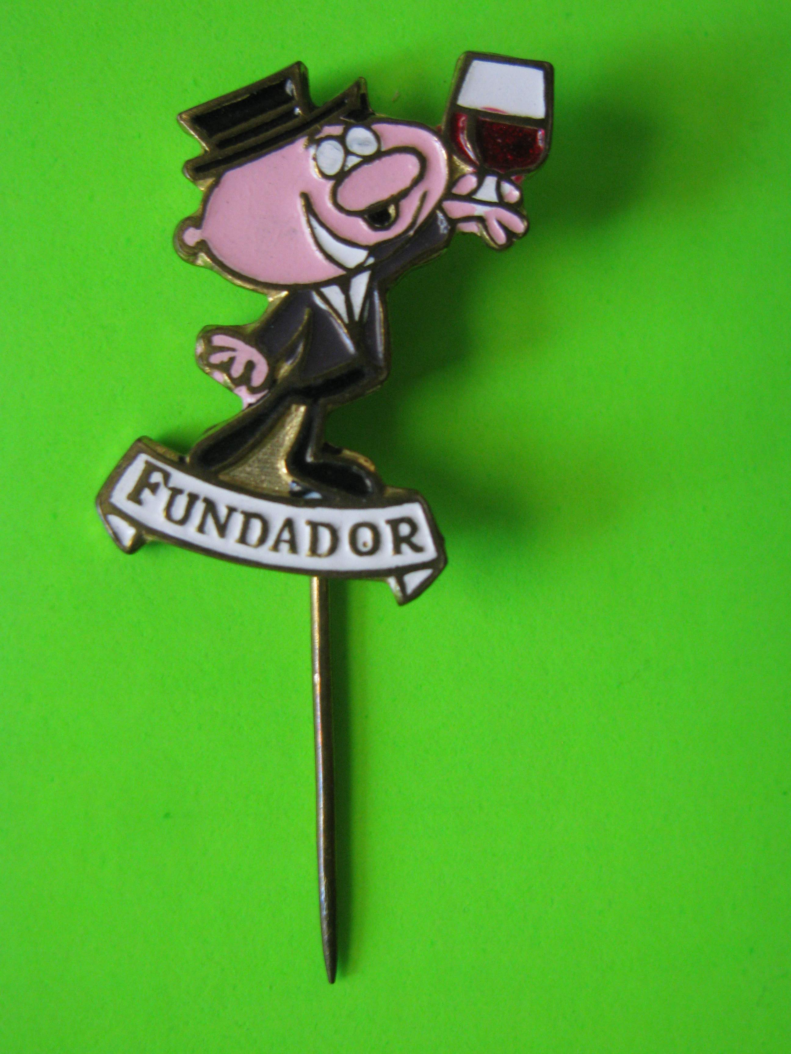"Vintage FUNDADOR Exclusive Brandy Promo Stick Pin with 1"" Pin"