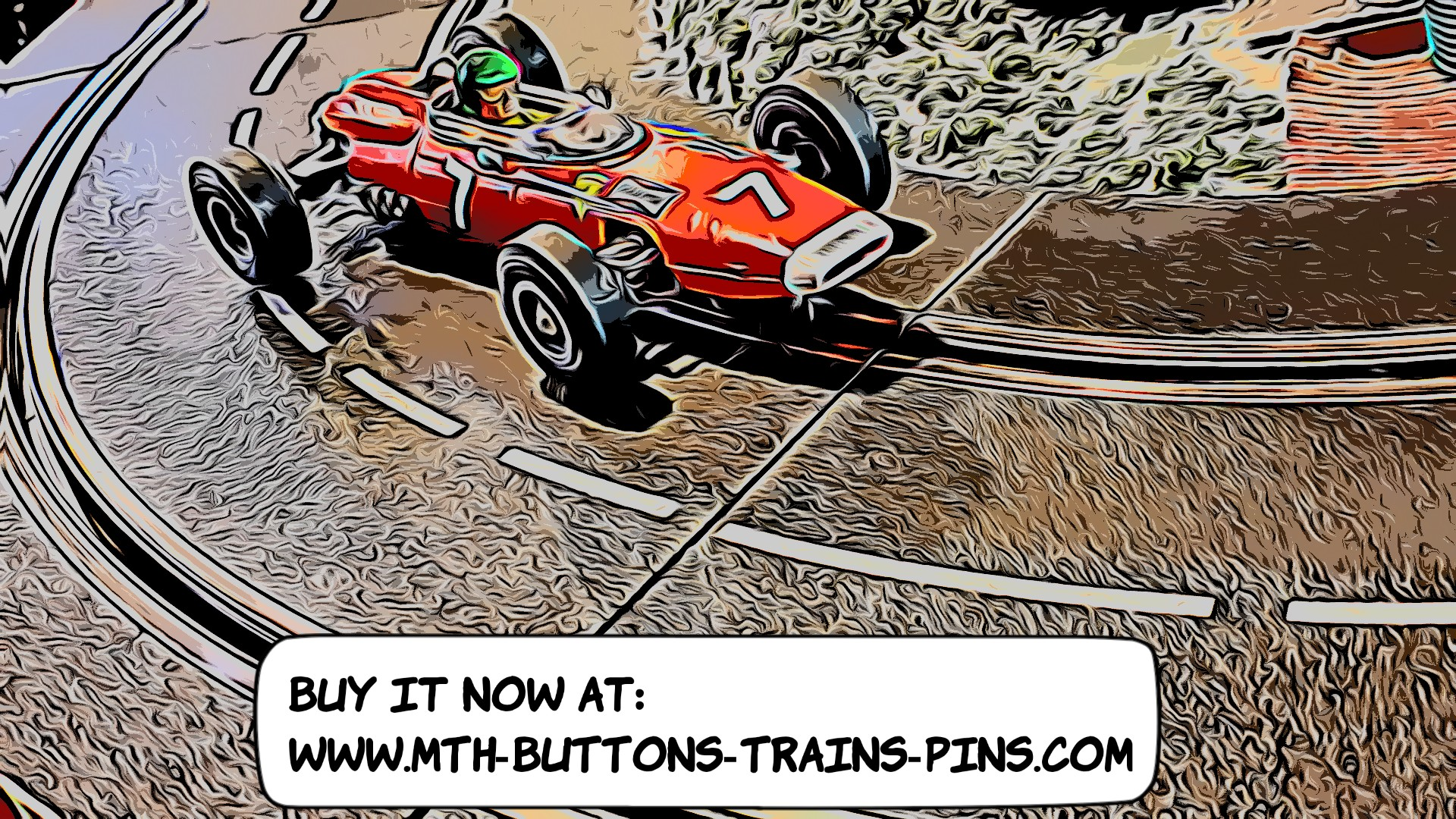 * SALE * COX 1964 Ferrari 158 F1 World Championship John Surtees & Lorenzo Bandini Slot Car 1:24 Scale