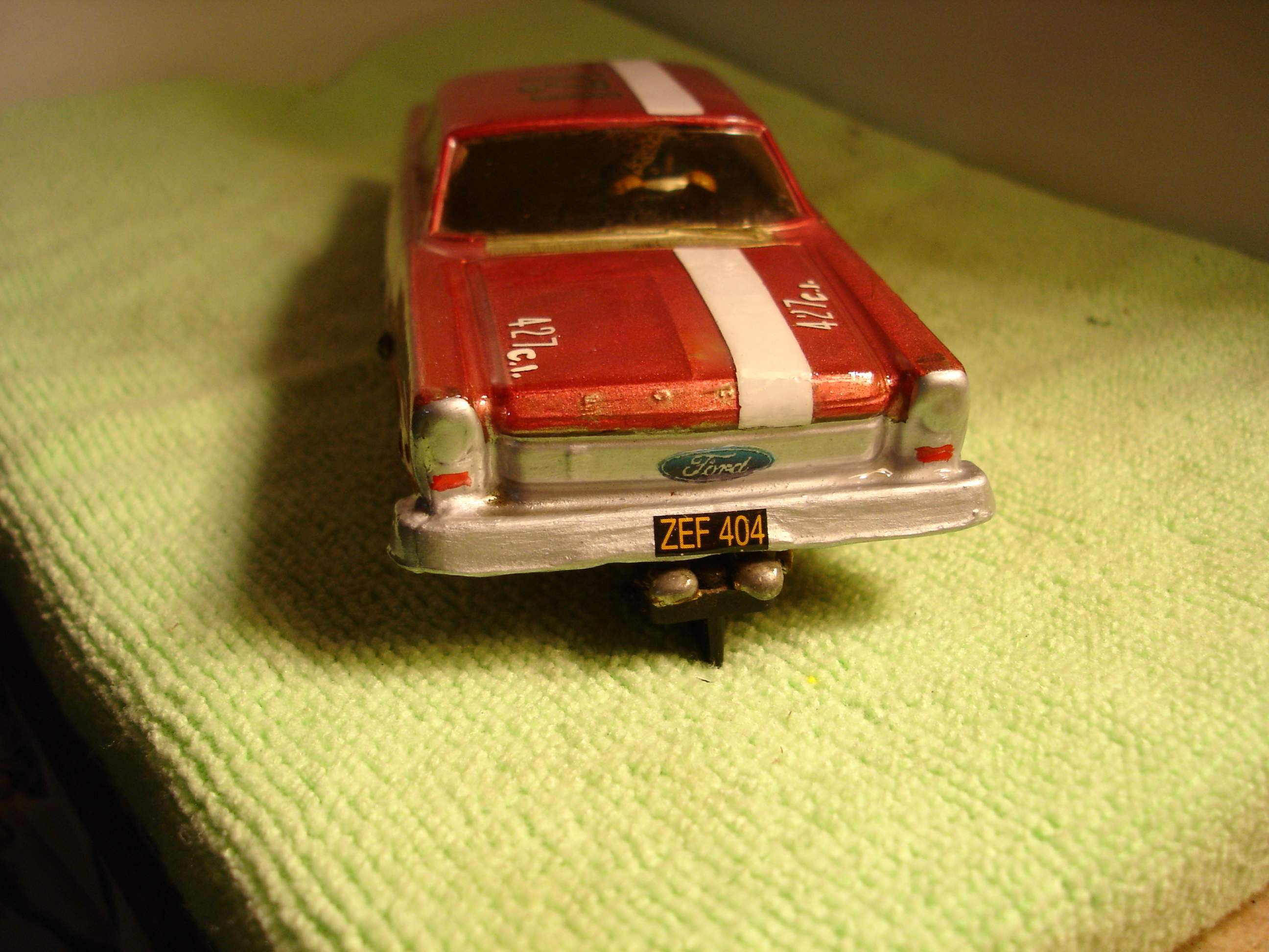 * SOLD * Vintage 1962 Ford Galaxy Slot Car 1/32 Scale