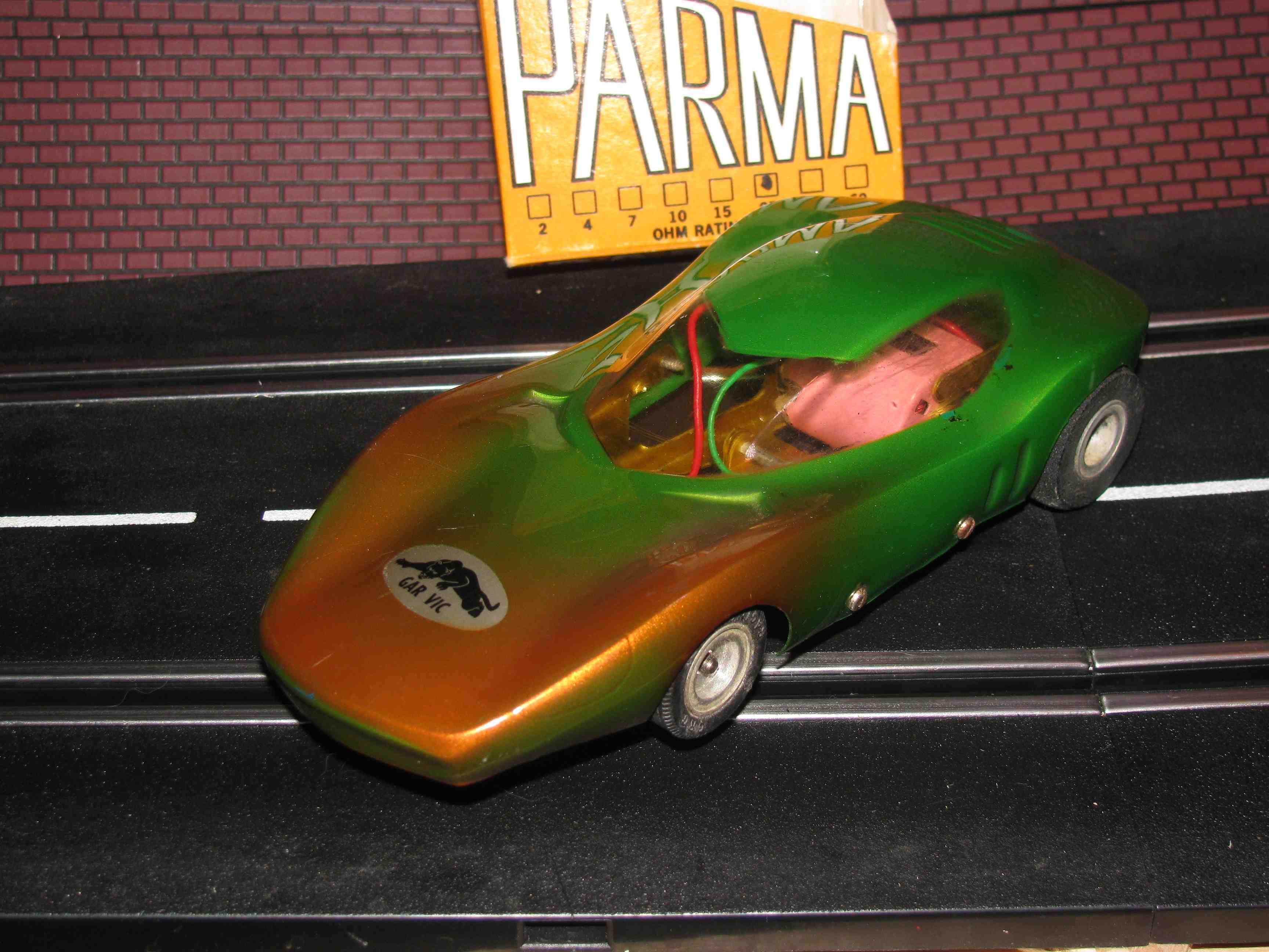 *** SOLD *** RARE! 1960`S GARVIC ORIGINAL,1/24 SCALE SLOT CAR