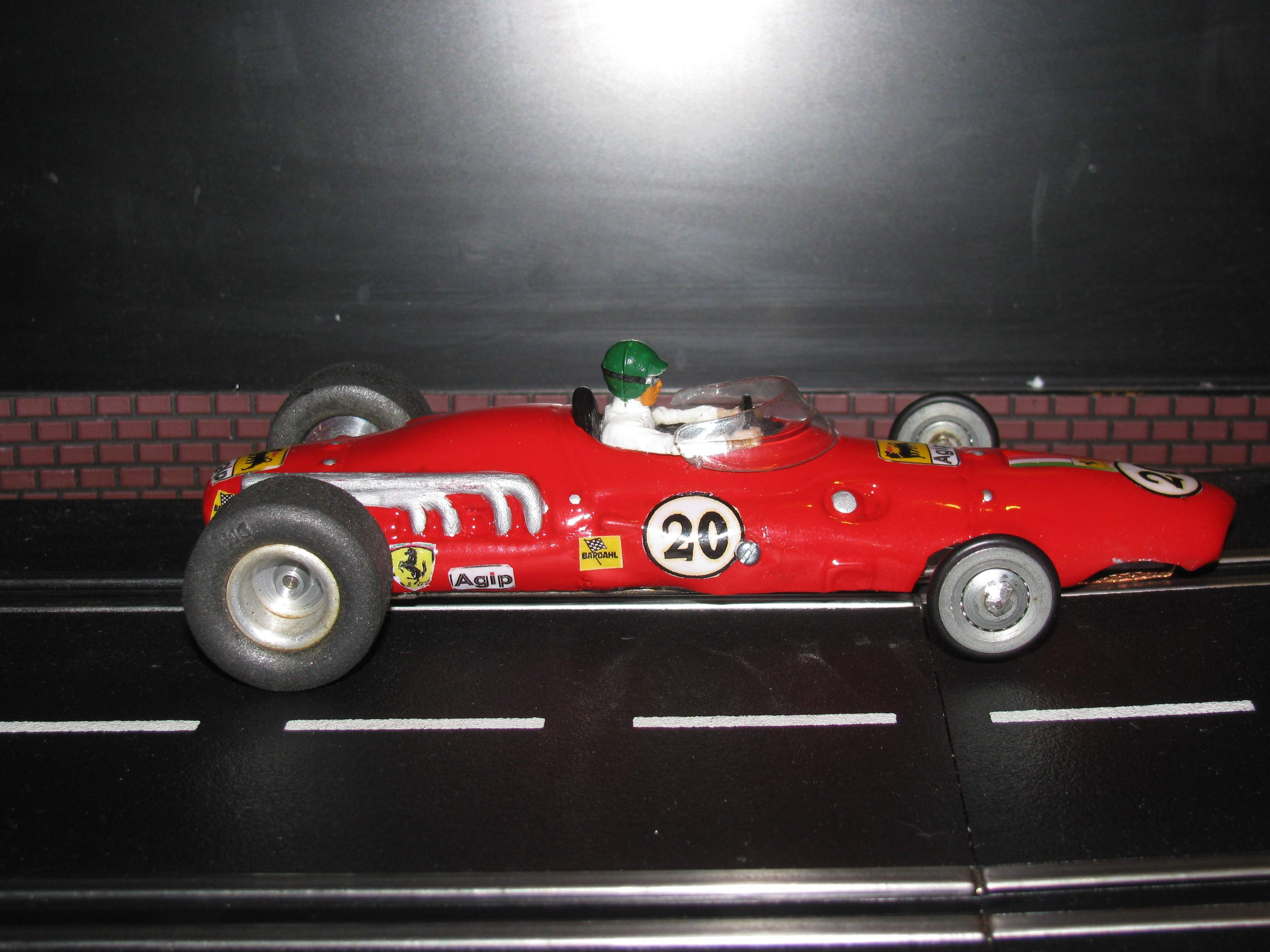 * SOLD * Vintage International Industries Ferrari Formula One Slot Car 1/24 Scale
