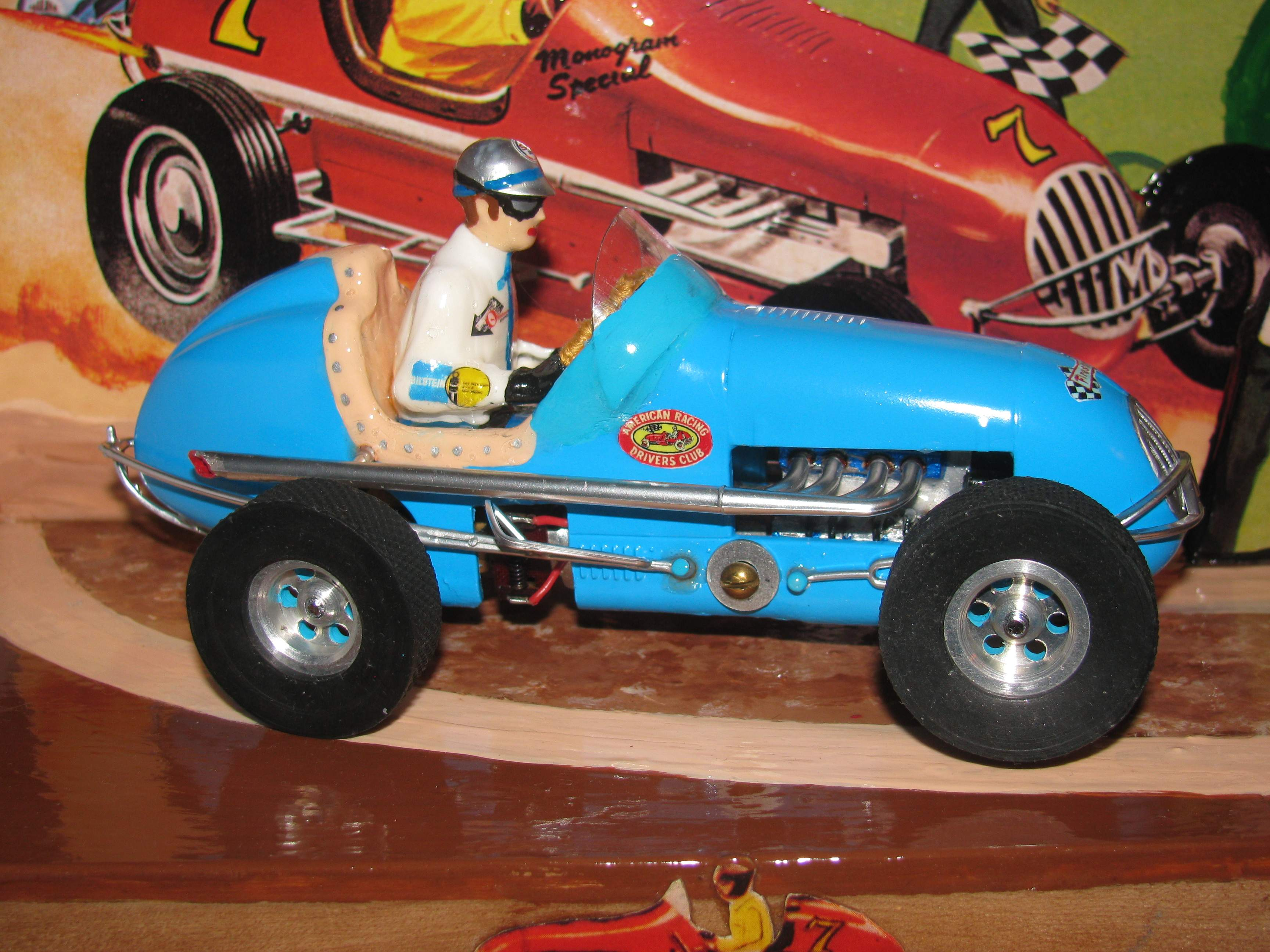 *SOLD* * SPECIAL PRICE FOR CHARLES E. * Monogram Midget Racer in classic Powder Blue
