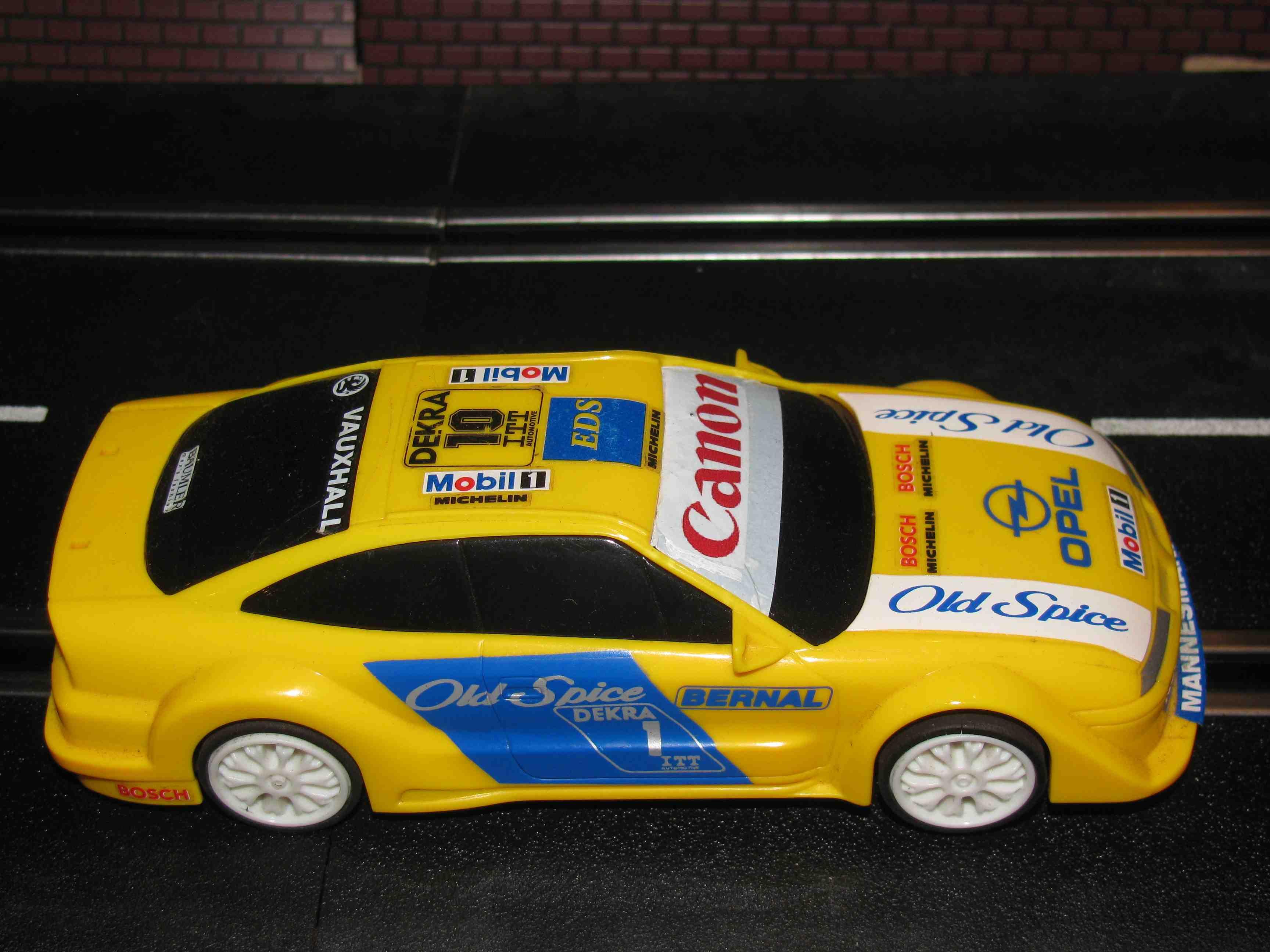Hornby Opel Vauxhall Dekra Rally Slot Car 1/32 Scale – Car 1