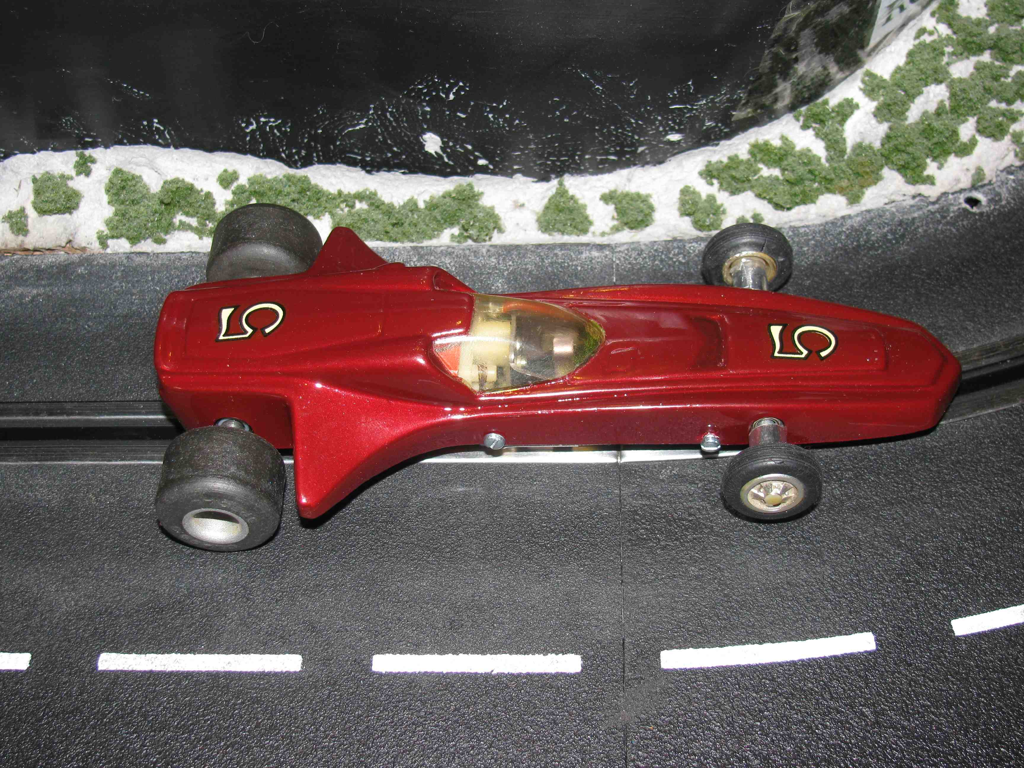 * SOLD * Classic Industry ASP Radical Red Racer 1/32 Scale Slot Car – Car #5