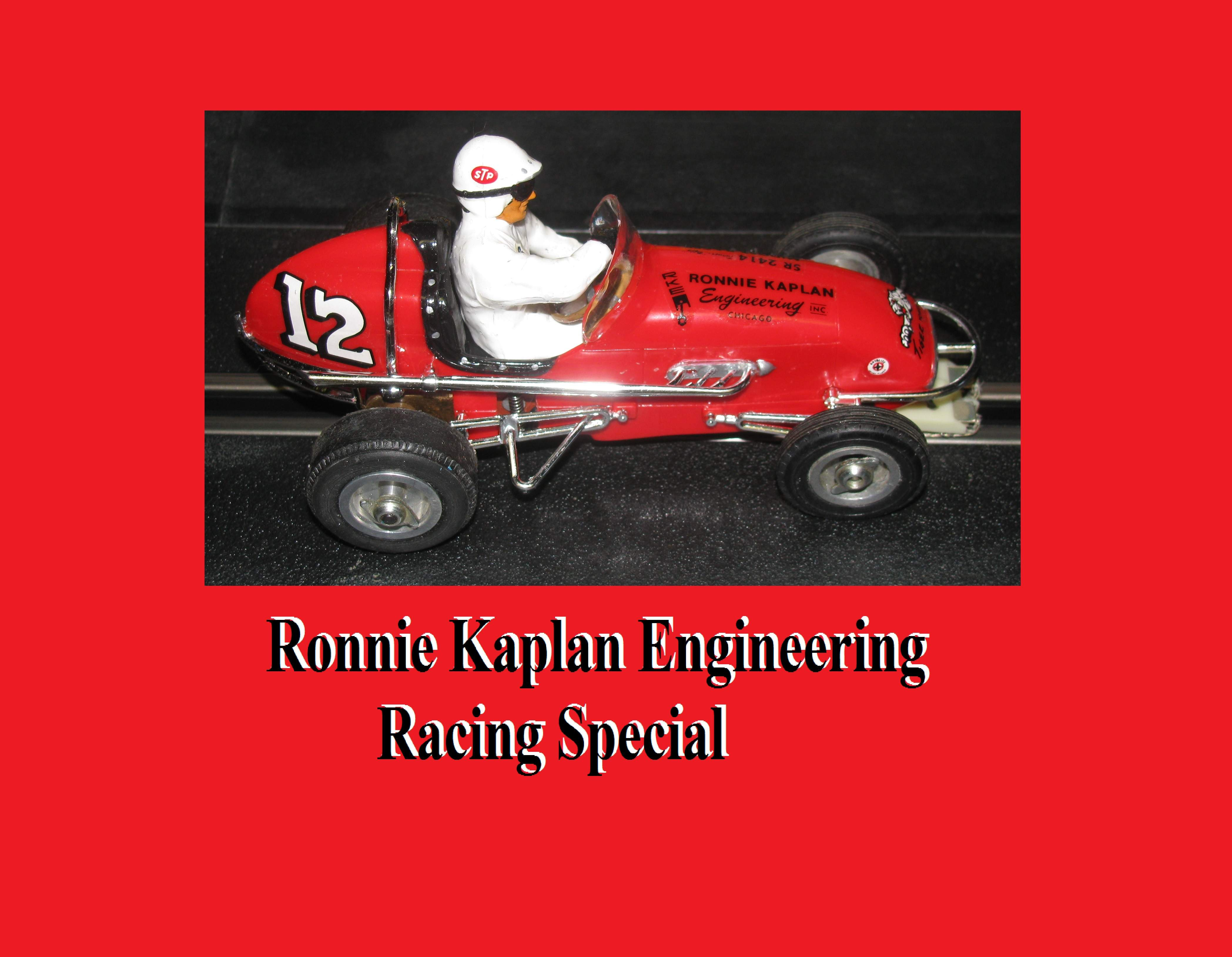 *SOLD* * SALE * Monogram Midget Racer Kaplan Engineering Racing Special Slot Car 1:24 Scale