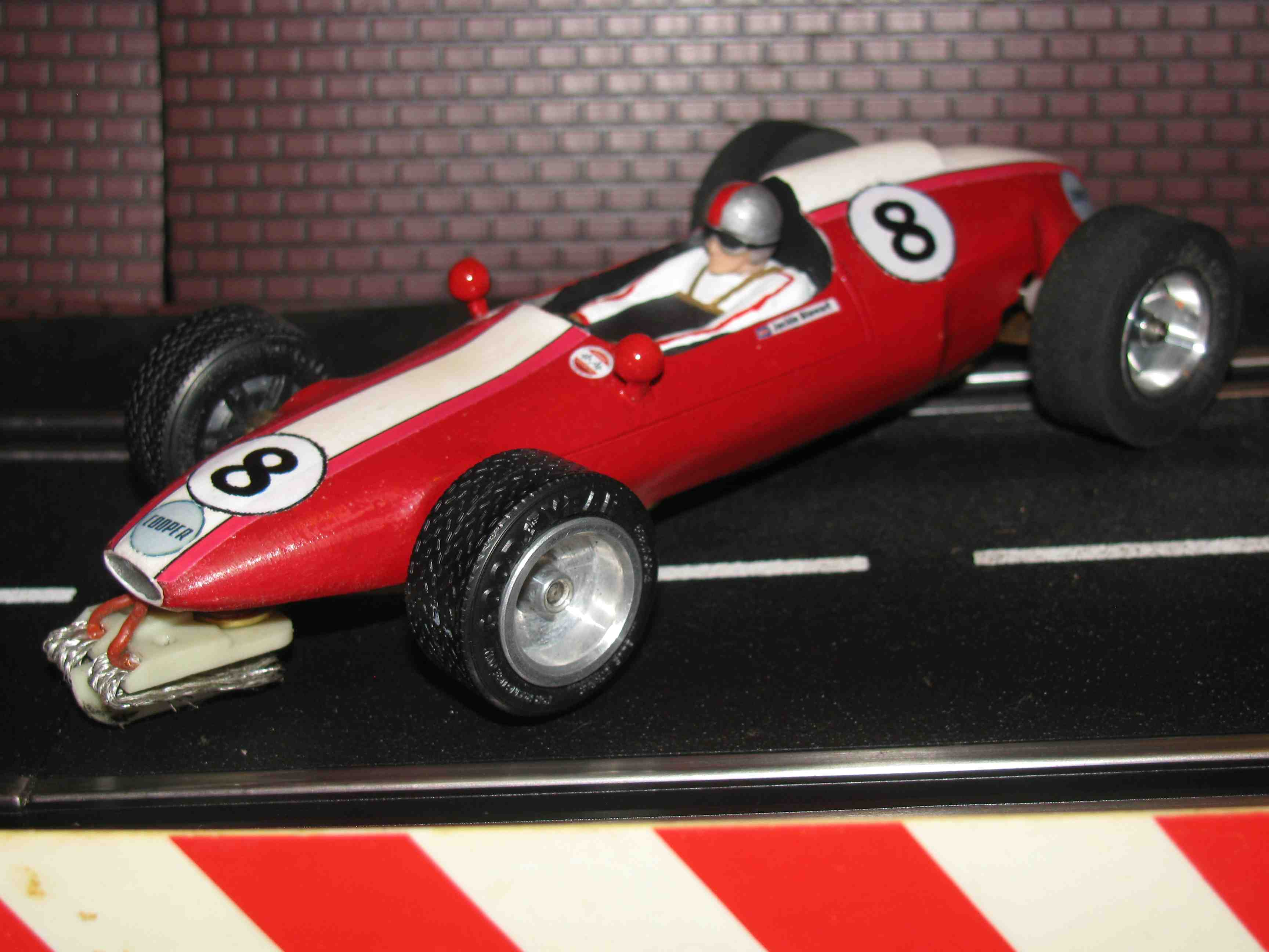 * SOLD * Vintage Russkit Cooper F1 Slot Car 1/24 Scale – Car #8