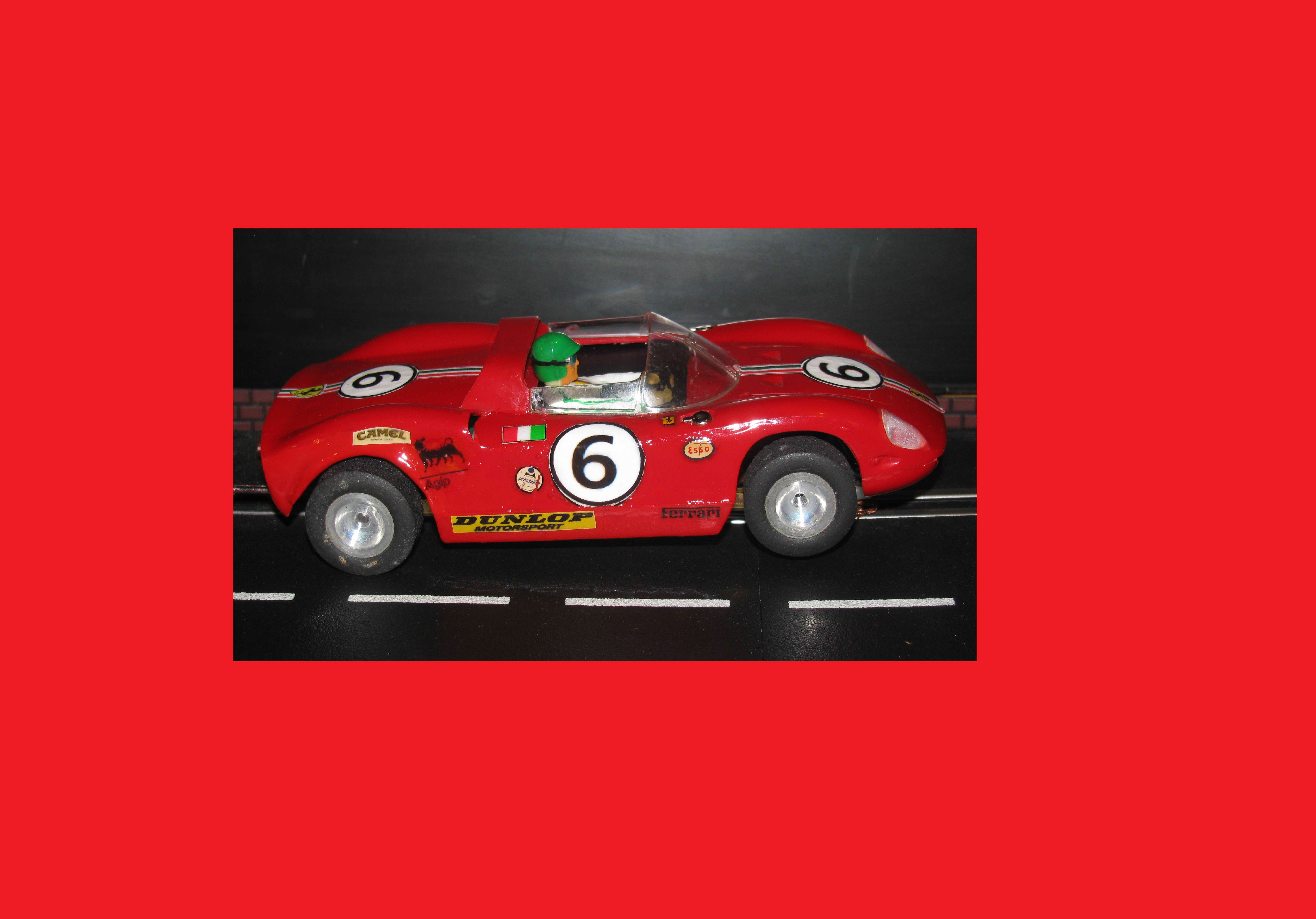 * SOLD * Vintage Monogram Ferrari 275P Slot Car 1/24 Scale