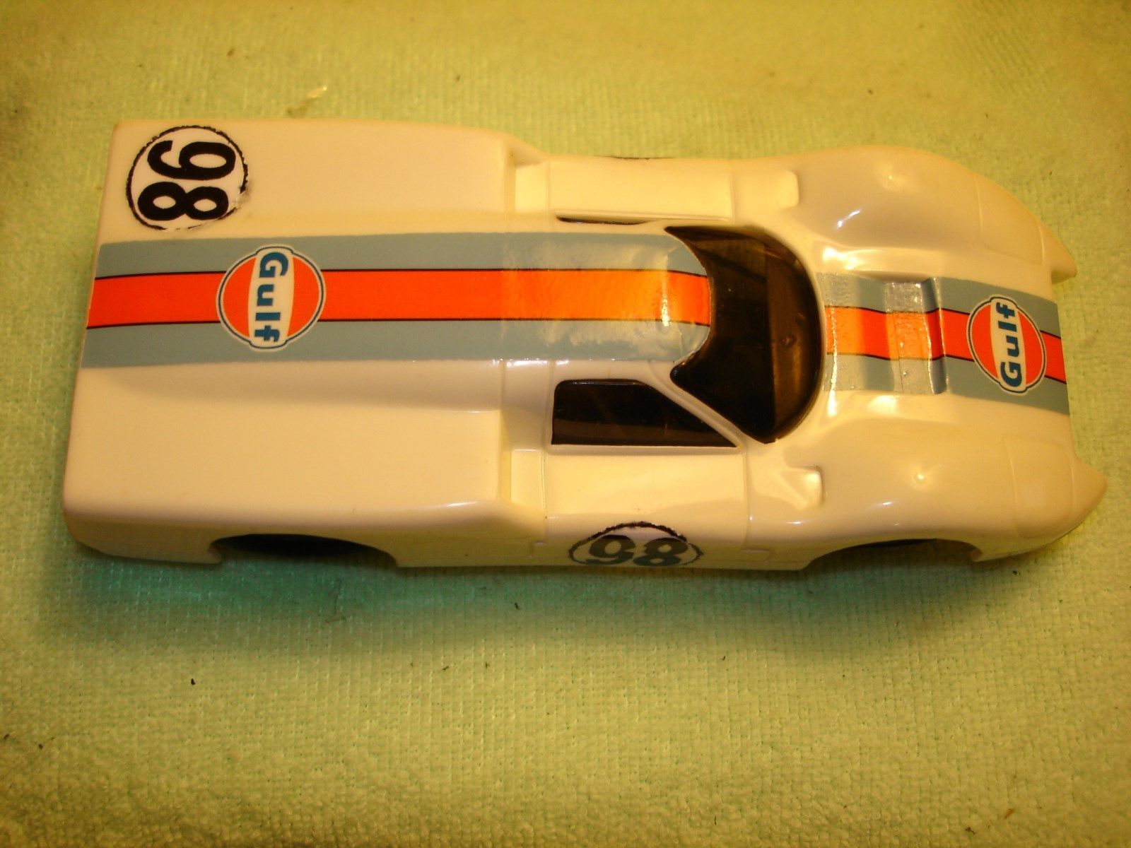 * SOLD * Vintage Eldon Ford J Slot Car 1/32 Scale – Gulf Racing
