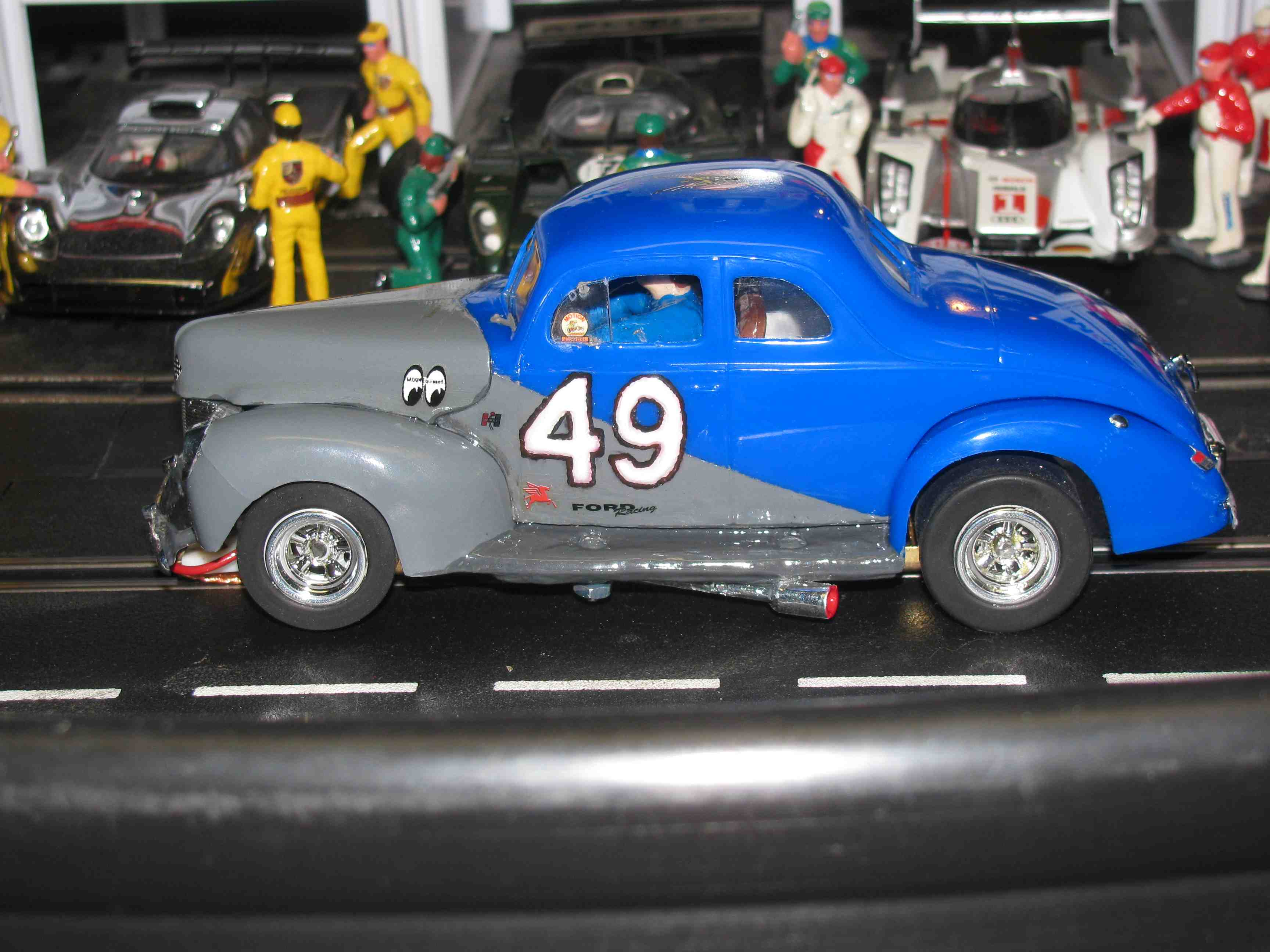 * SOLD * * For Charles E. *SUPER SPEACIAL HOLIDAY SALE PRICE* Vintage AMT 1940 Ford V8 Jalopy Coupe 1:24 Scale - Car #49