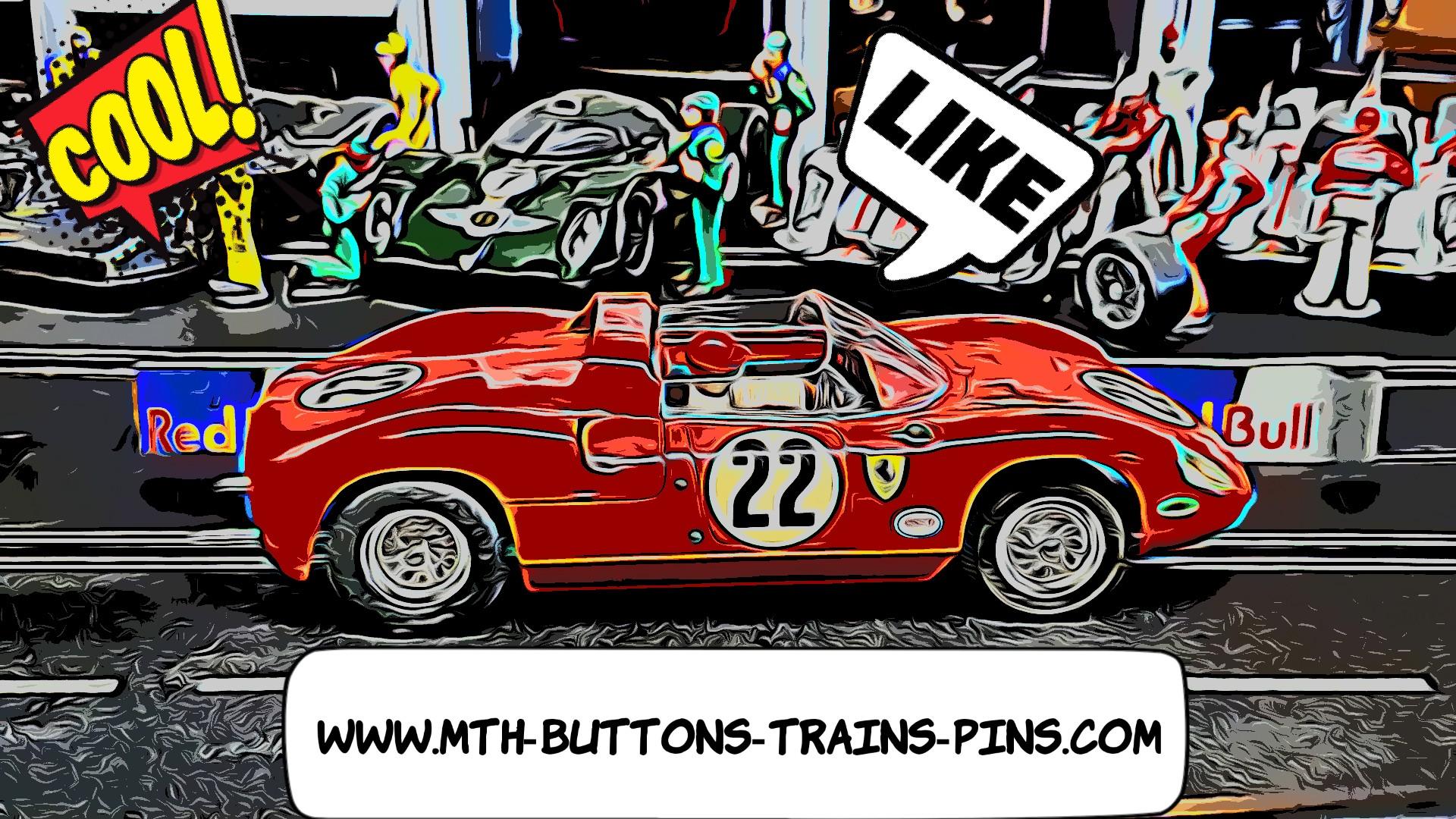 * SALE * Monogram 1963 FERRARI 250P/275P Slot Car 1/24 Scale – Car #22