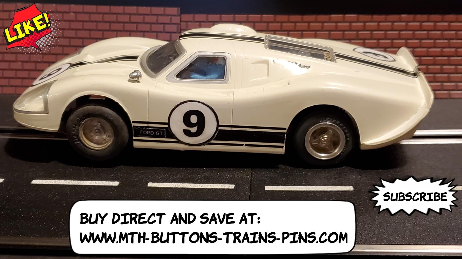 * SALE * VERY RARE 1967 Ford GT40 Mark 4 (MkIV) LeMans Spec Slot Car 1:24 Scale – Car 9