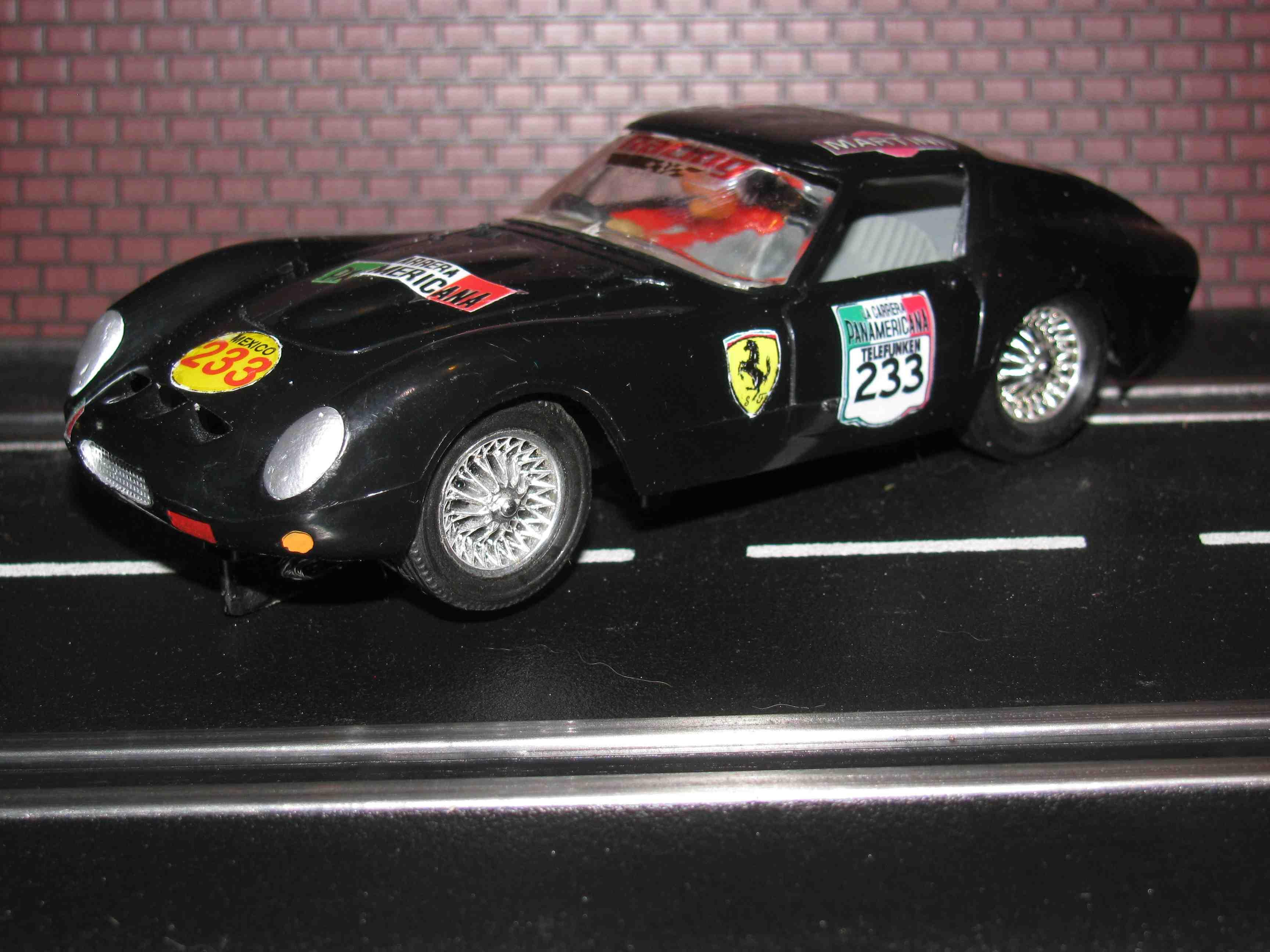 * SOLD * Strombecker 1963 Ferrari 250 GTO Slot Car 1/32 Scale – Car 233