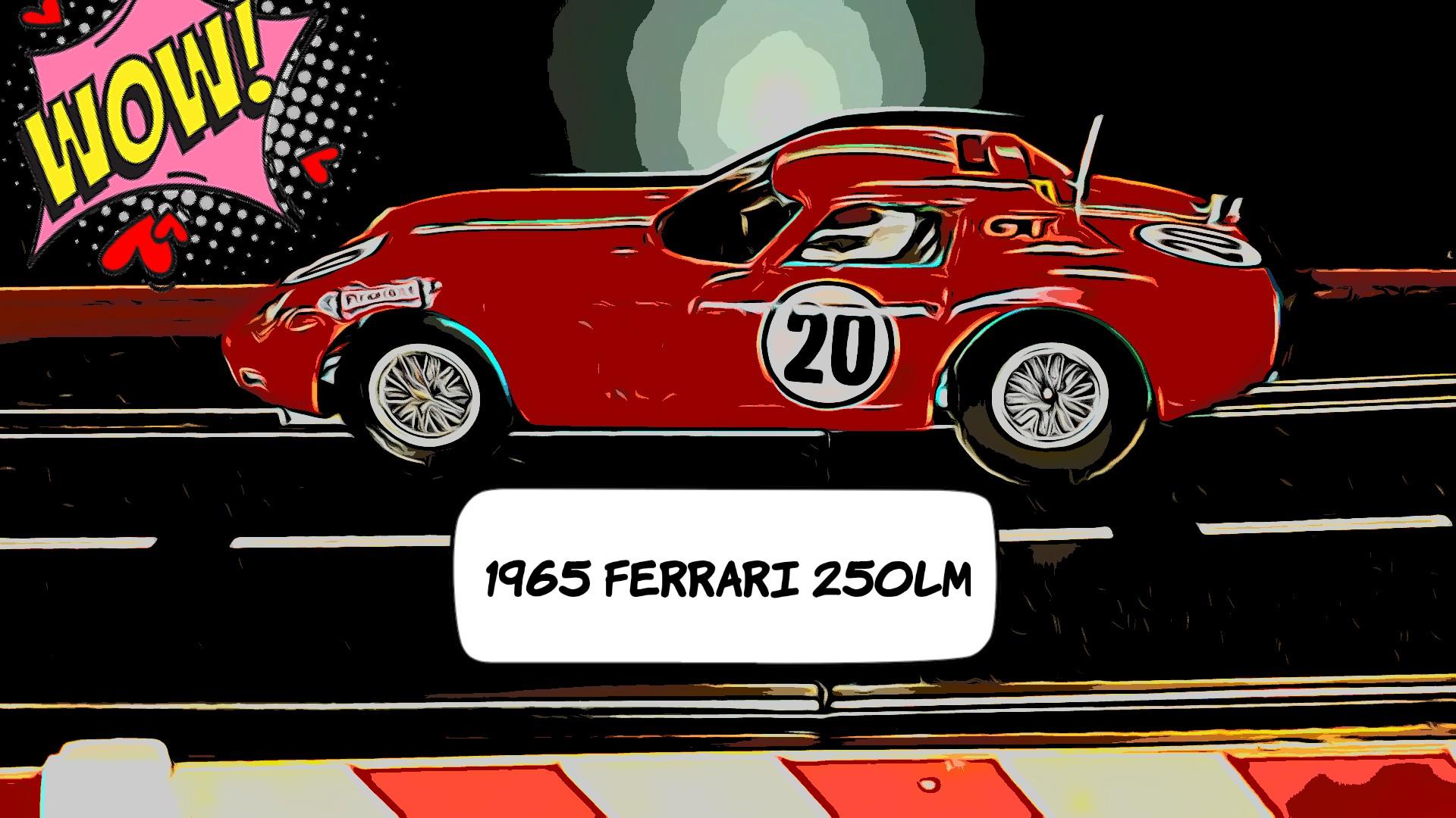 * SALE * K&B Ferrari 250LM LeMan's Racer Car 20 1:24 Scale