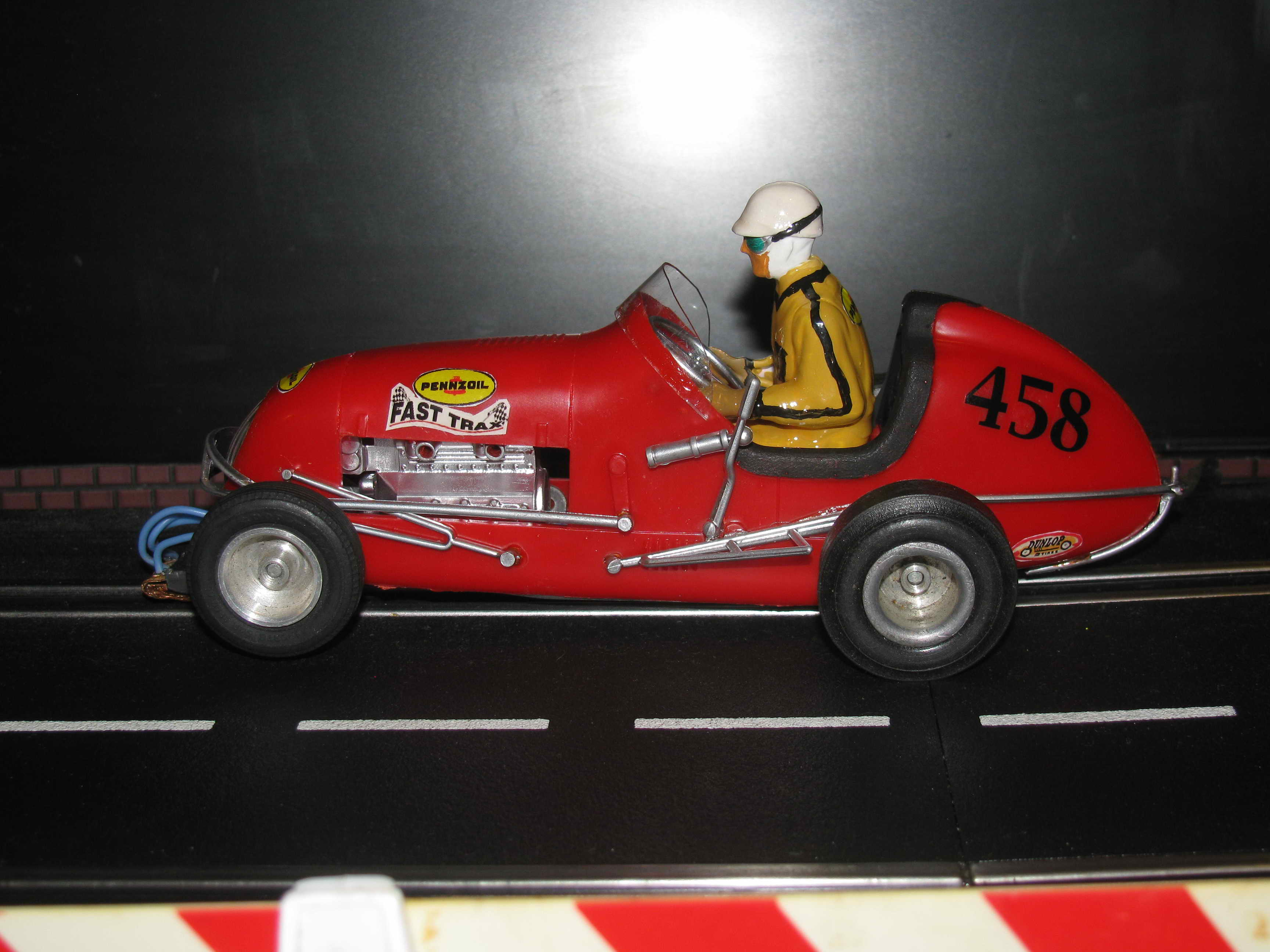 *SOLD* Monogram Midget Racer Red Runner 458 Slot Car