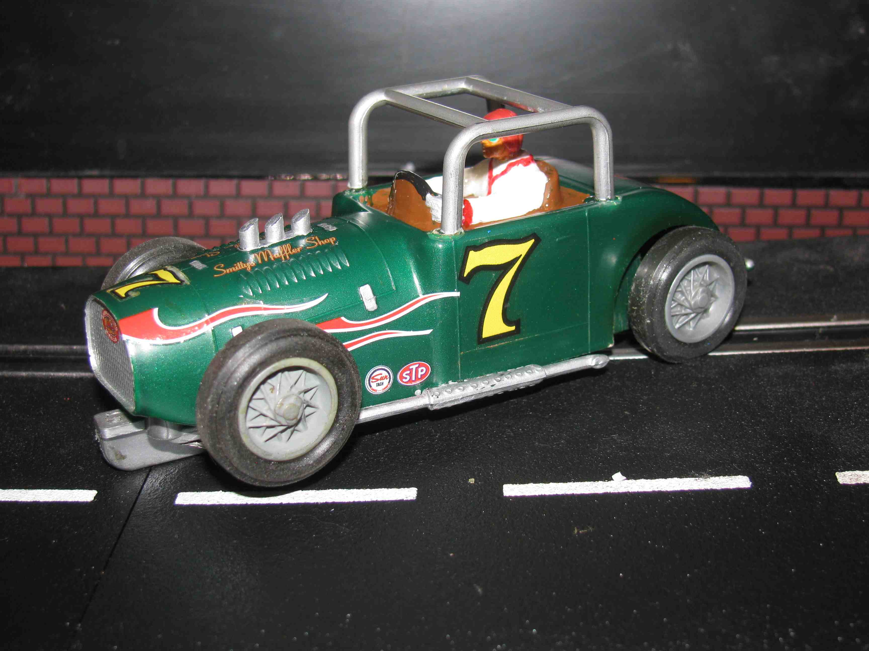 * SOLD * Strombecker Midget Dirt Racer Slot Car 1/32 Scale