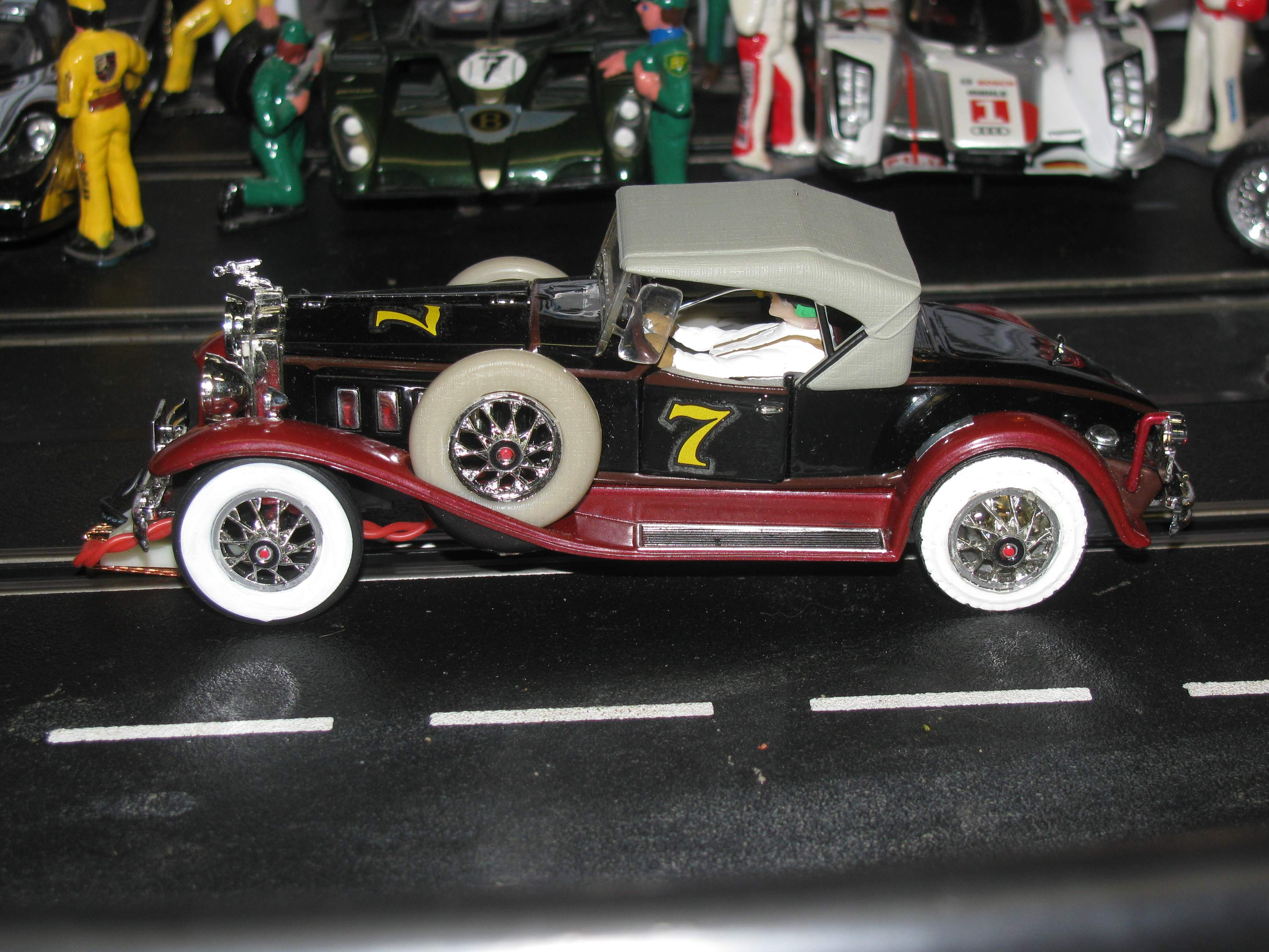 * SOLD * * Special Package Price for Charles * Packard - Black & Red - 1:32 Scale Slot Car