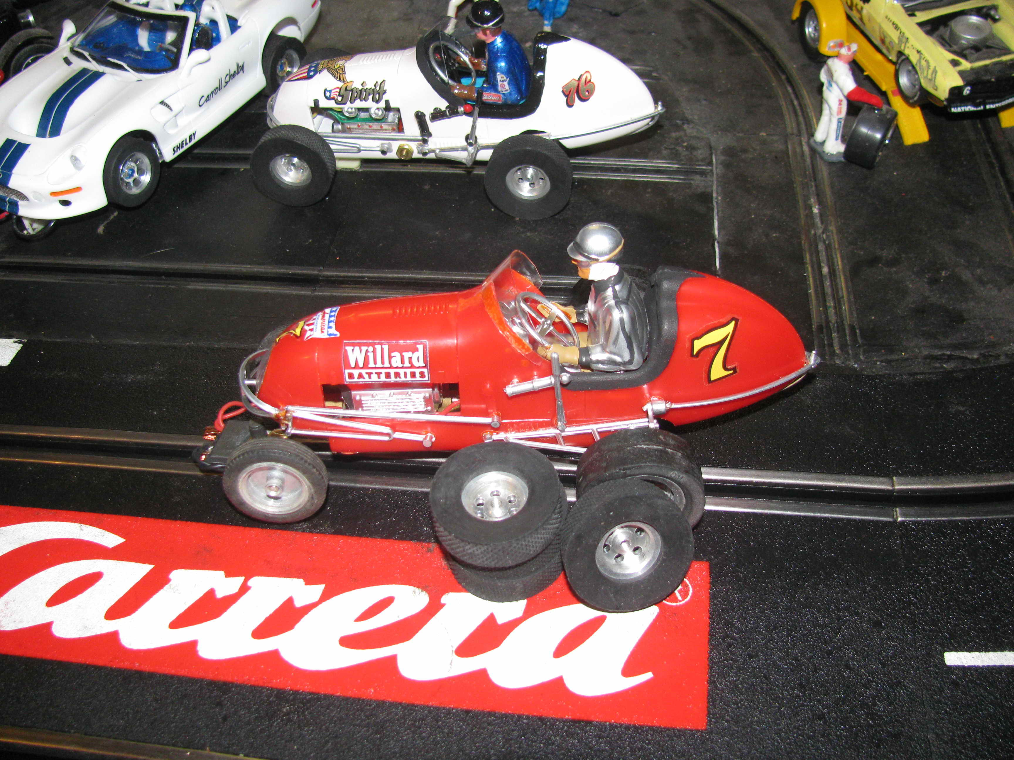 *SOLD* Monogram Midget Red Racer Slot Car 7