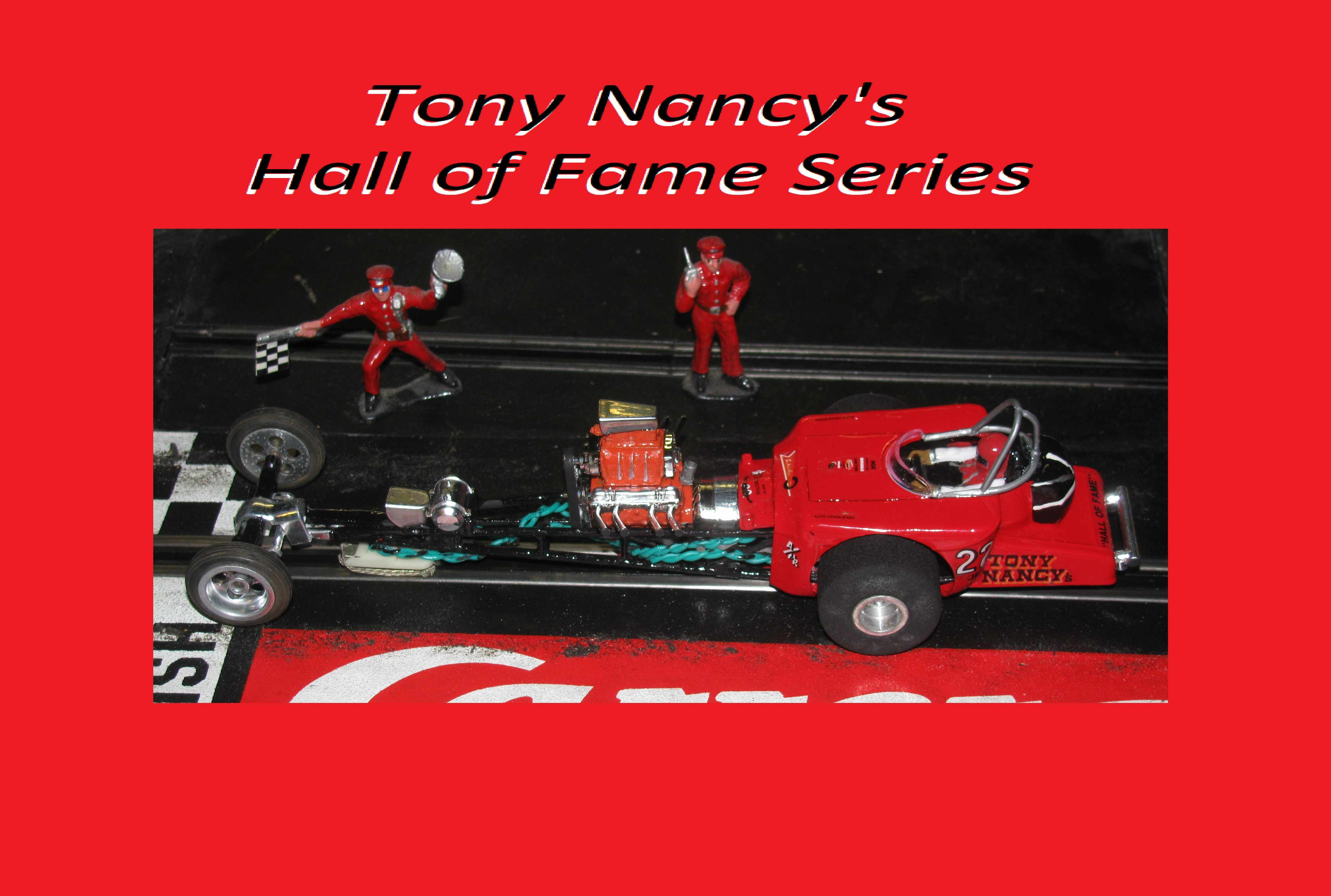 * Winter is coming SALE * Vintage Revell Tony Nancy's Hall of Fame 22JR Dragster Slot Car 1/32-1/24 Scale