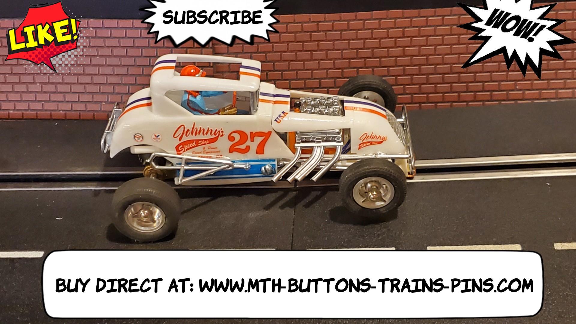 *SAVE $$ vs. our eBay store * Lindberg White Lightning Dirt Track Midget Racer Kurtis Kraft Racing Special