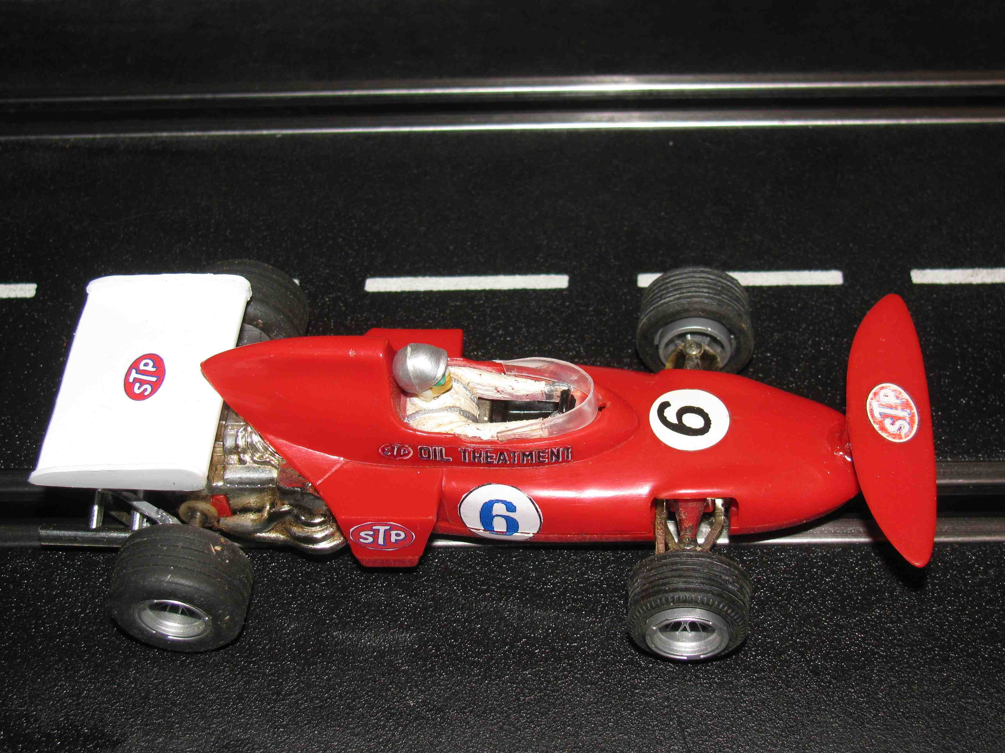 Scalextric March Ford Formula 1 Slot Car 1/32 Scale C0126