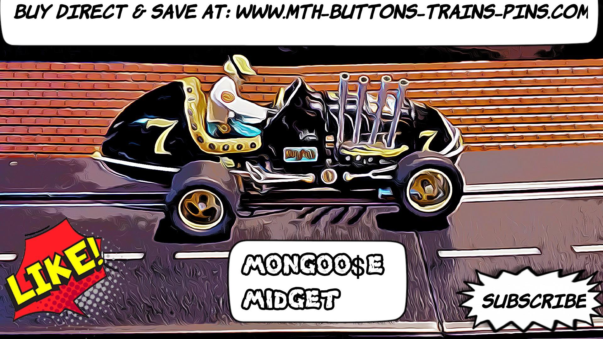 SALE *Save $100 vs. my Ebay Store Price* Monogram 1964 Midget Racer Mongoose Dirt Track Sprint Car Racing Special Slot Car 1/24 Scale – Car #7
