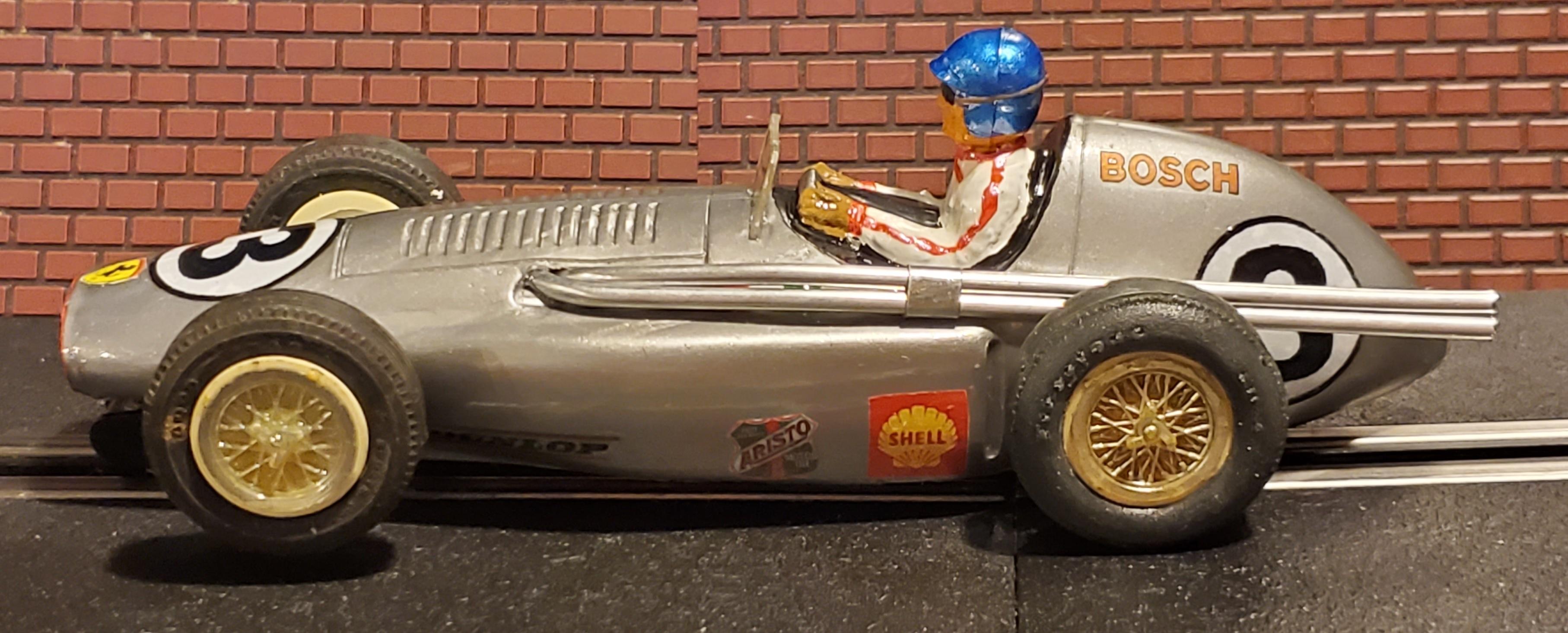 * SALE * Revell Ferrari Silver Squalo G.P. 555 F1 Slot Car 1/24 Scale – Car 3