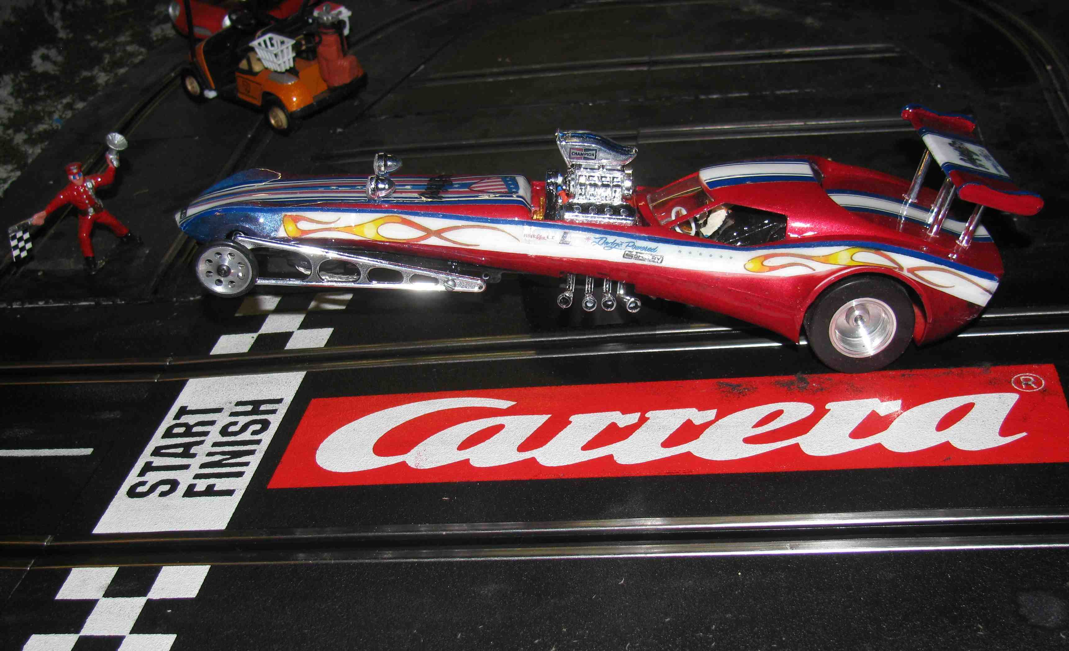 *  SOLD * The Spirit of 76' Custom Dragster - Slot Car - 1/24 Scale