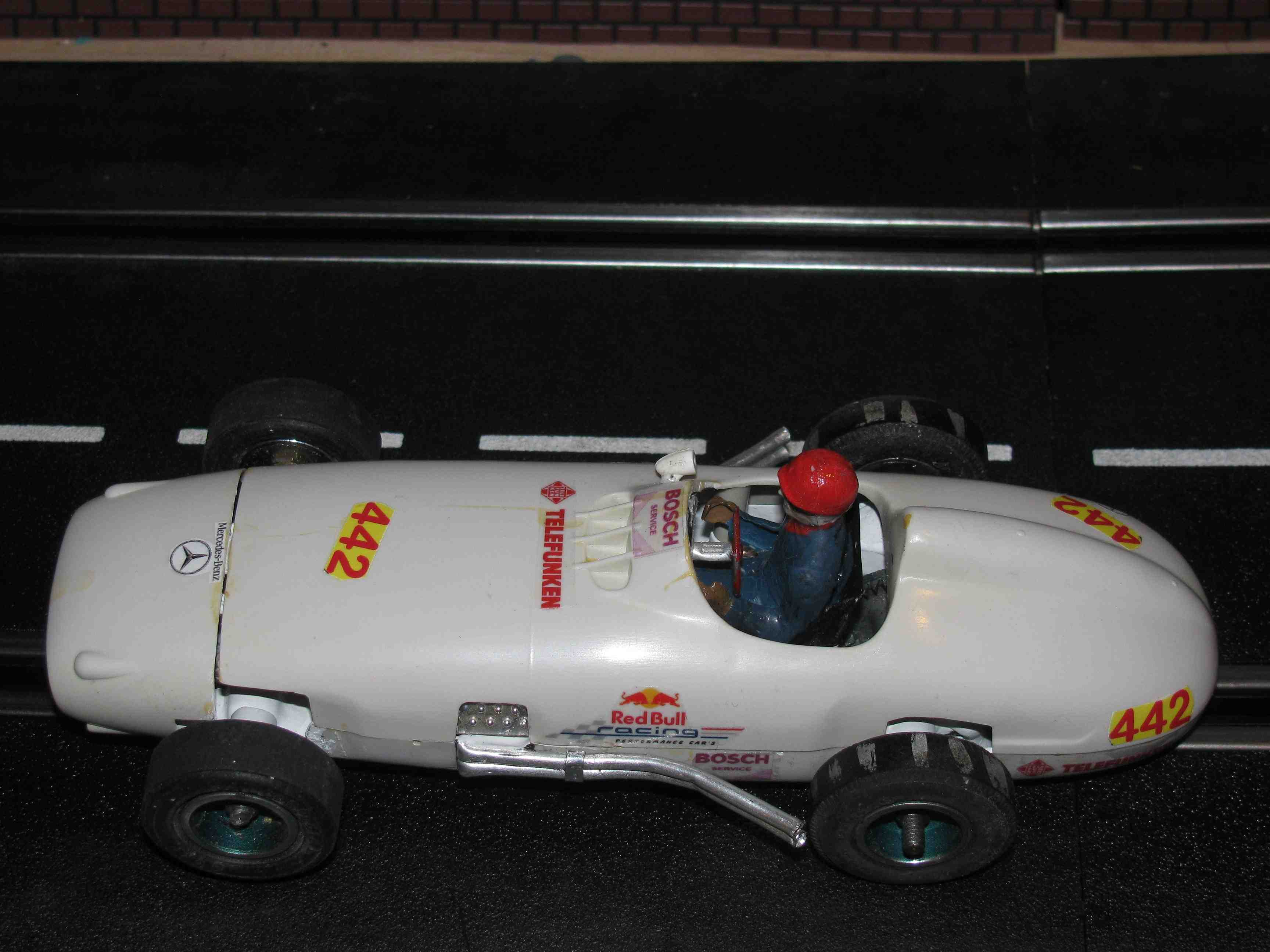 * SOLD * 1959 Strombecker Mercedes Benz Formula One Racer - Car # 442