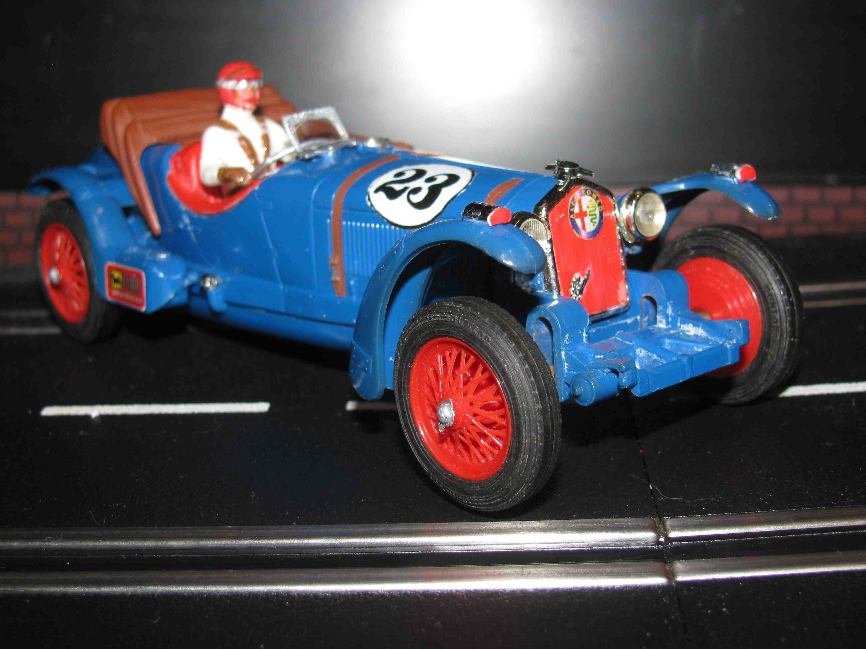 Alfa Romeo C 65 Scalextric Triang Slot Car 1/32 Scale