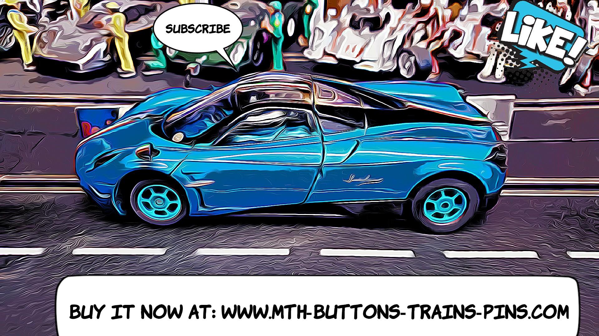 Pagani Huayra Slot Car 1/24 Scale Italian Motorsports