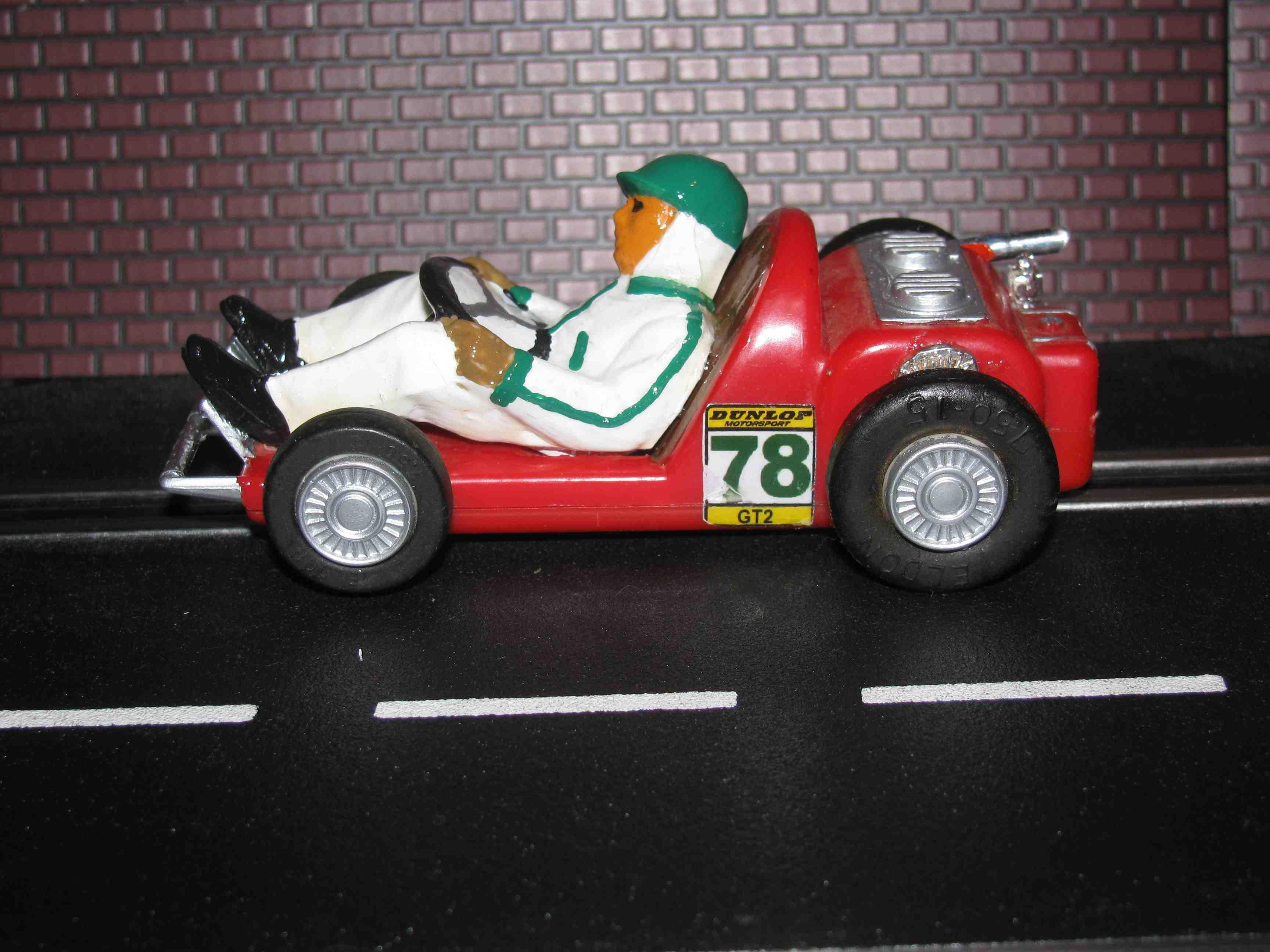 * SOLD * Eldon Vintage Go-Kart Slot Car 1/32 Scale – Original 6 Volt Motor