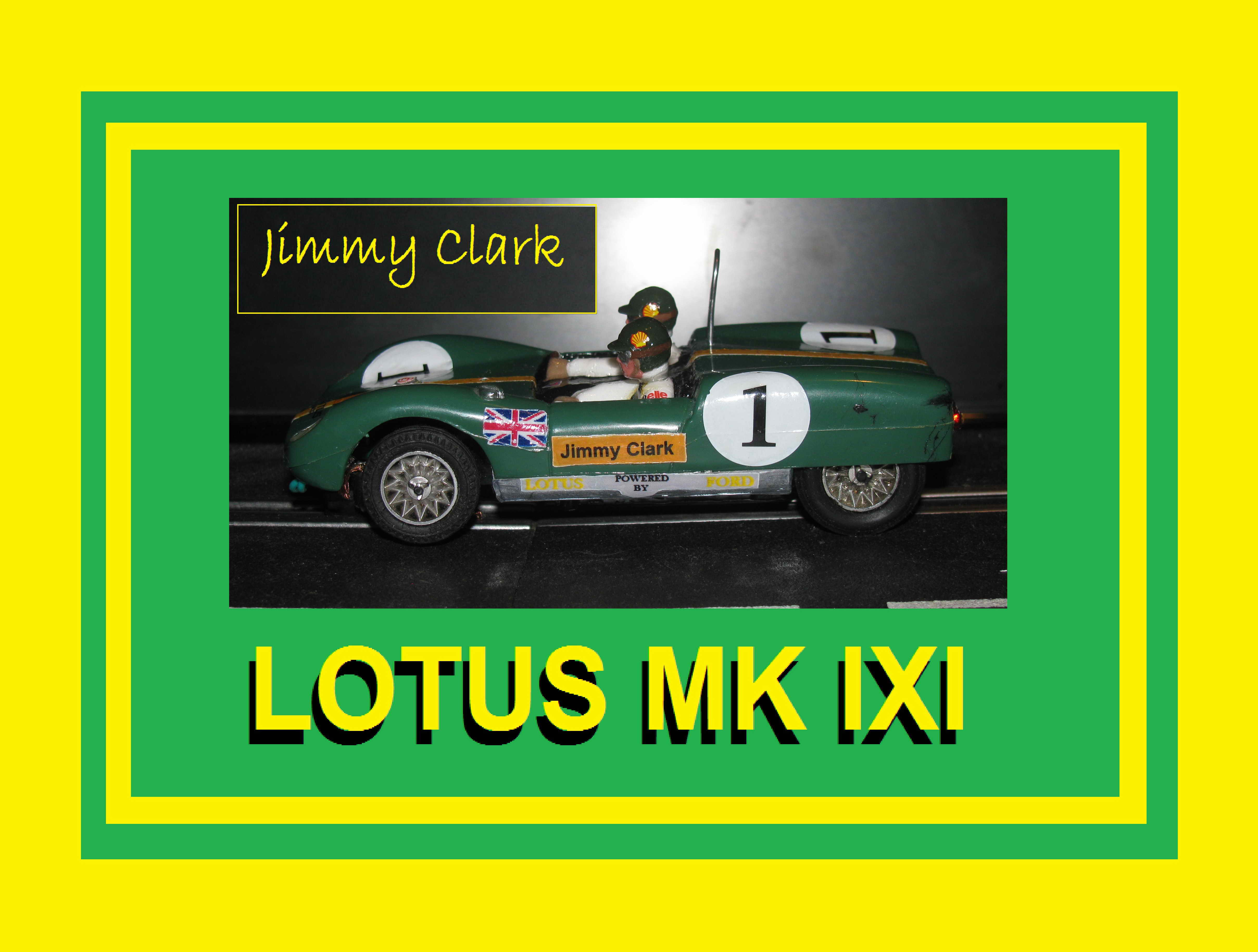 *SOLD* Strombecker Lotus MK XIX Jimmy Clark Rally Slot Car in 1/32 Scale