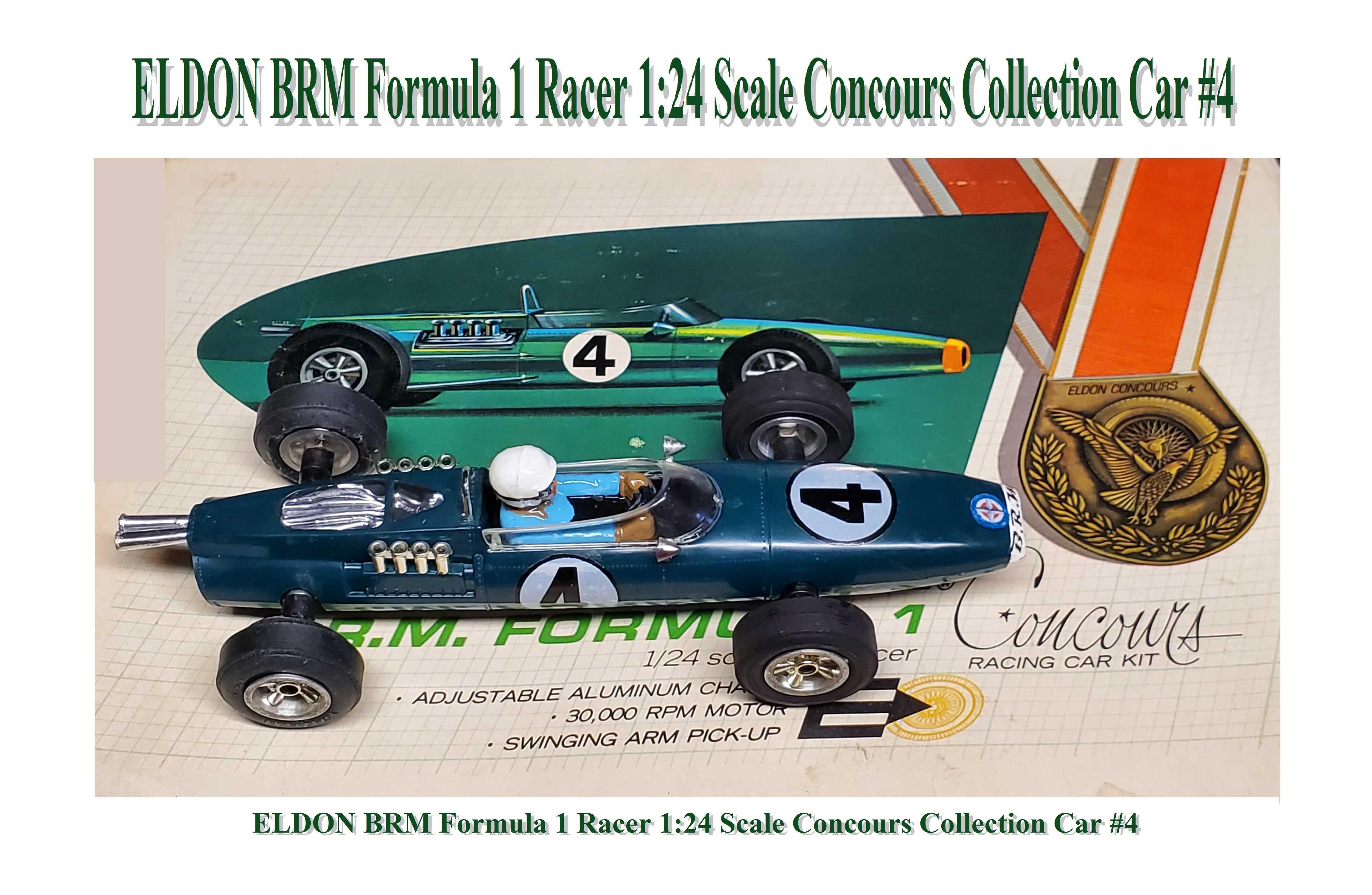 * Special Price * ELDON BRM Formula 1 Racer 1:24 Scale Concours Collection Car #4