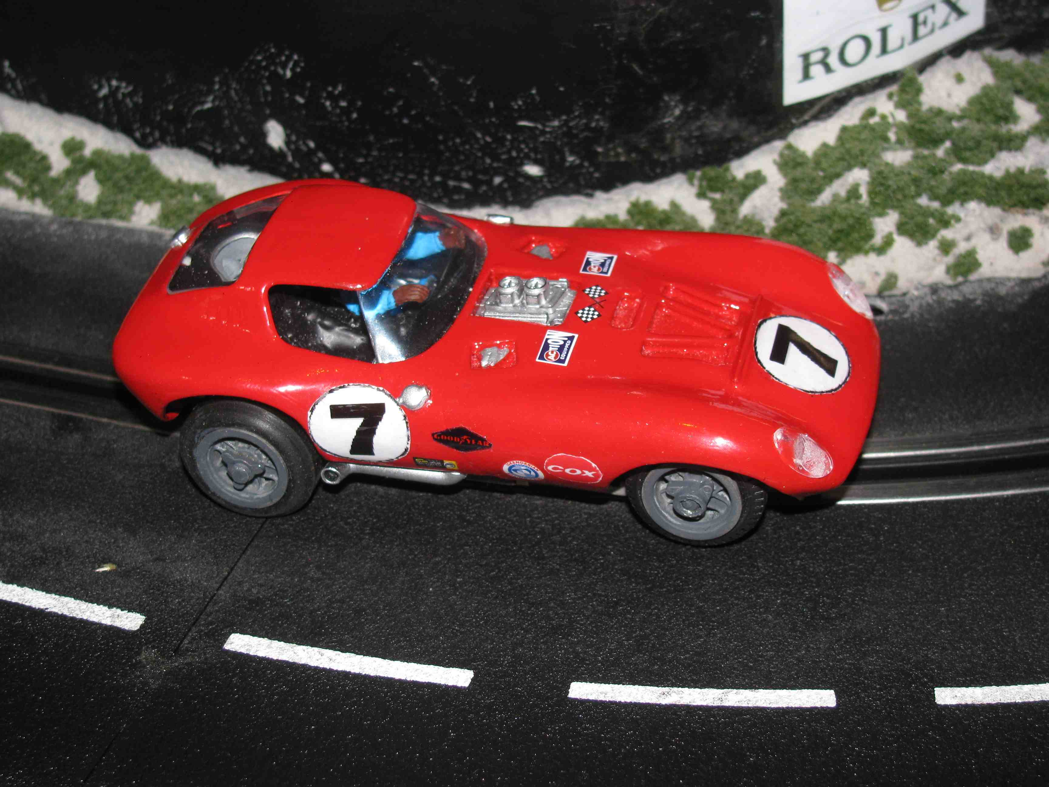* SOLD * Vintage Cox Cheetah Slot Car 1/32 Scale