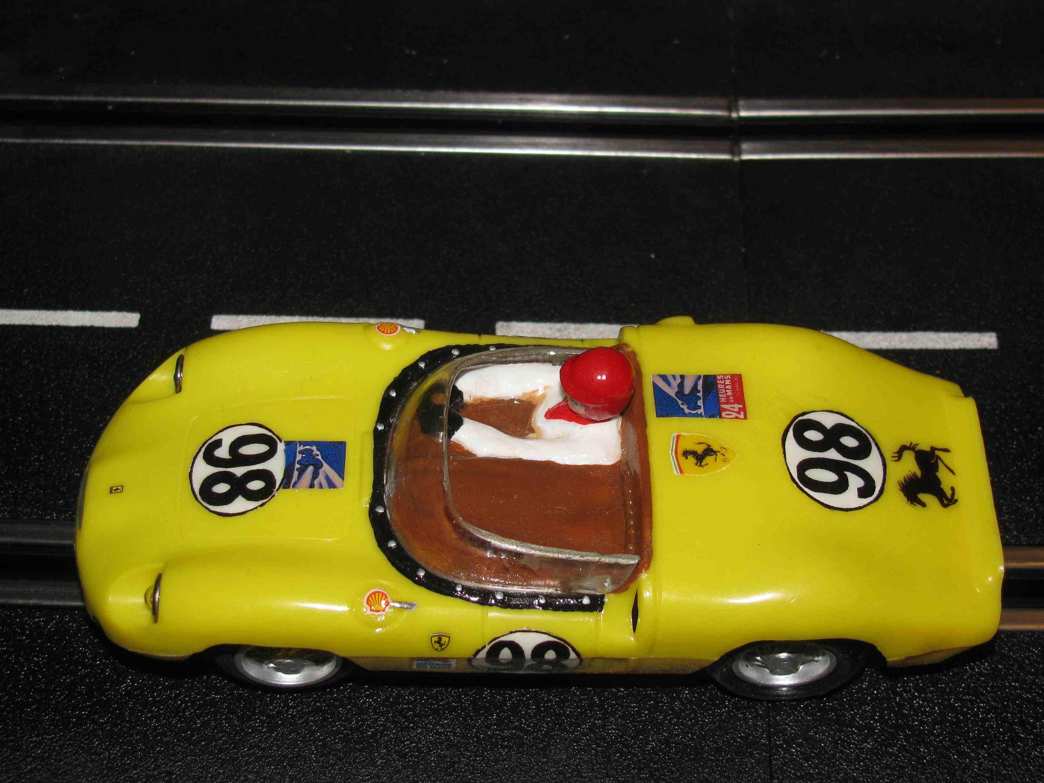 Eldon 1964 Ferrari Slot Car 1/32 Scale