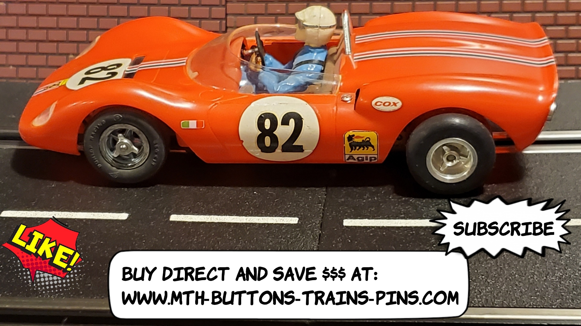 * VERY SPECIAL SALE PRICE * Ferrari Dino Spyder COX EXTREMELY RARE Original 1:24 Scale – Car #82