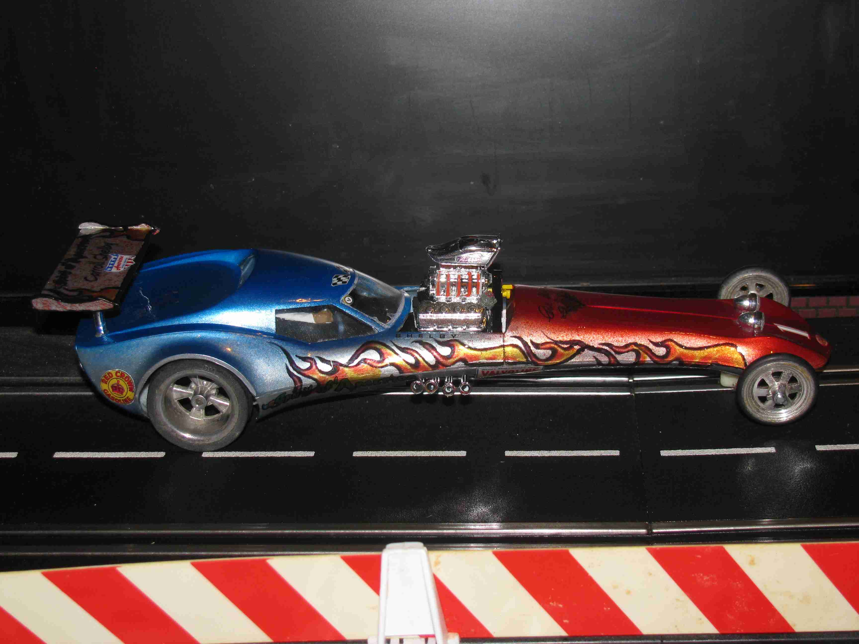 "* SOLD * 1964 ""Carol Shelby Spirit of America"" Dragster 1/24 SLOT CAR"
