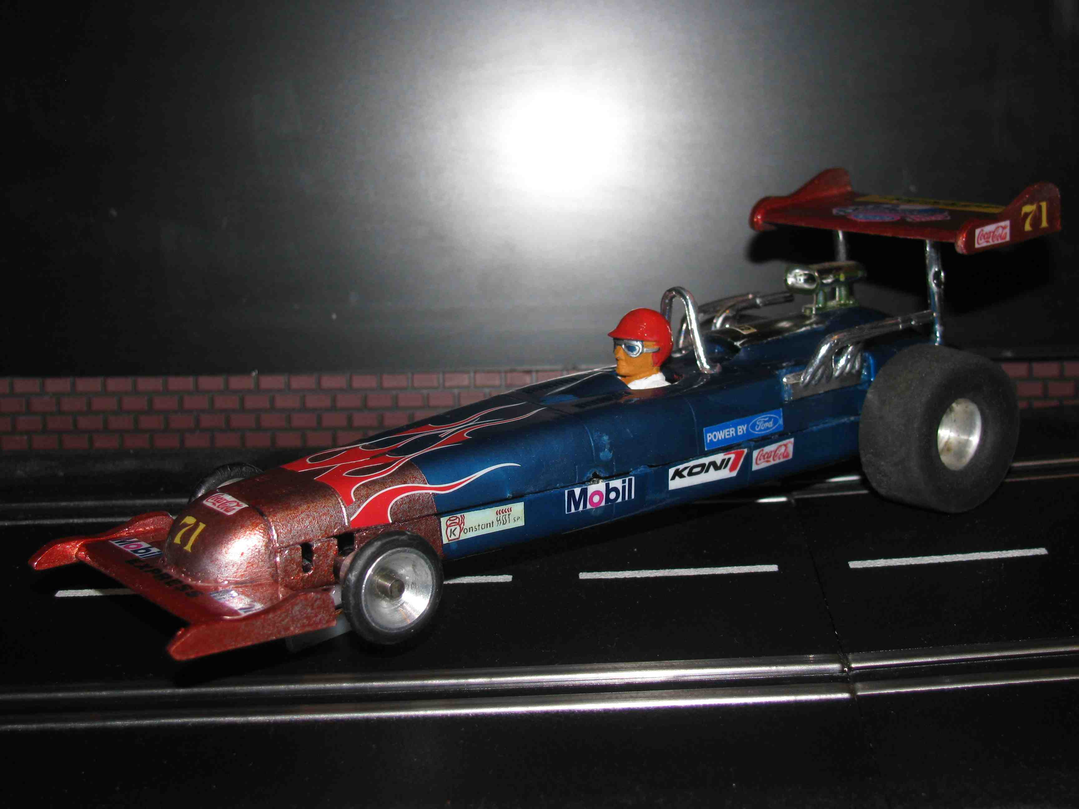 "* SOLD * Vintage HAWK Peeler IV ""Spirit of 71"" Dragster Slot Car 1/24-1/32 Scale"