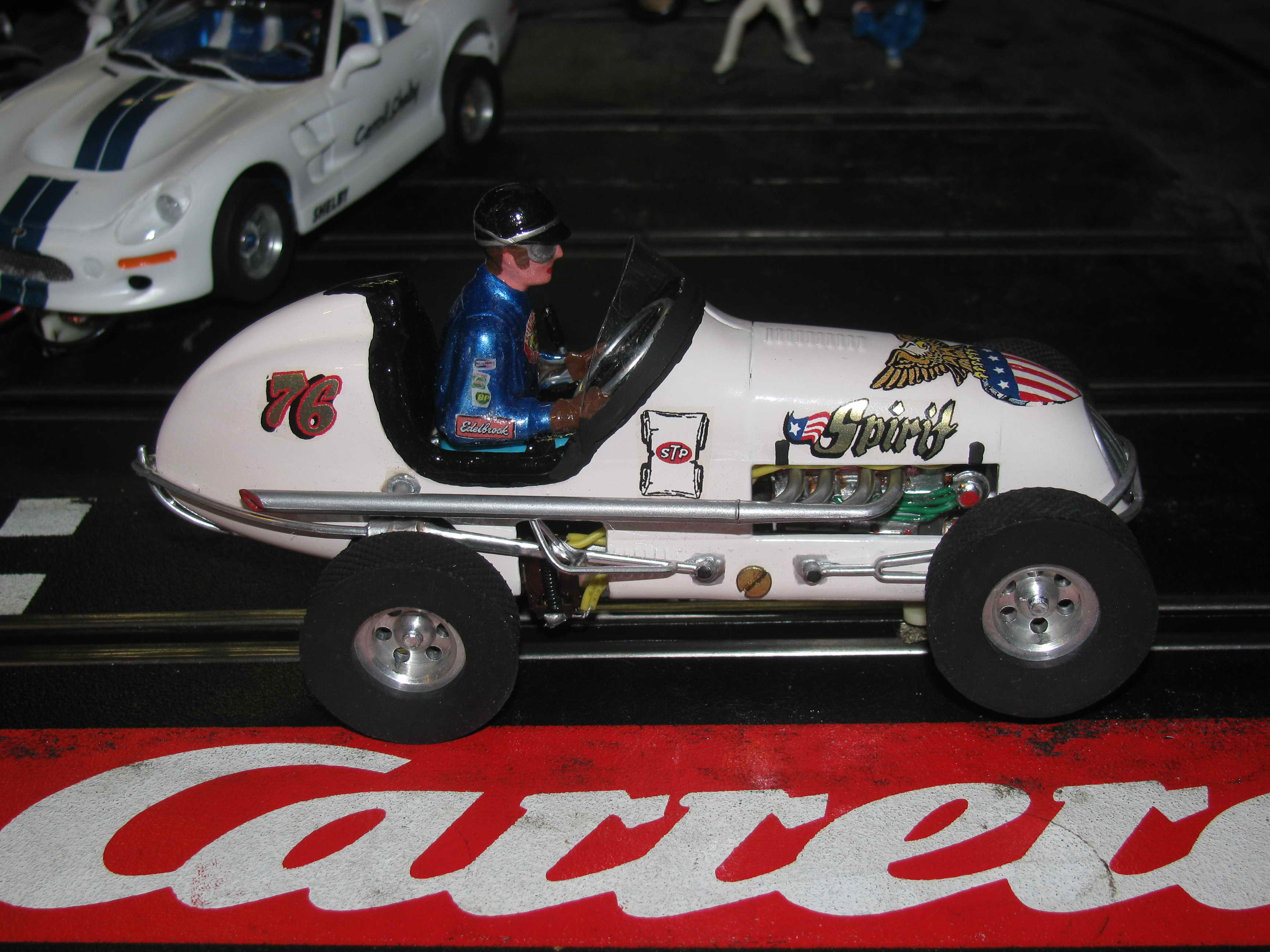 *SOLD*.Monogram Midget Racer The Patriot Spirit Slot Car 76