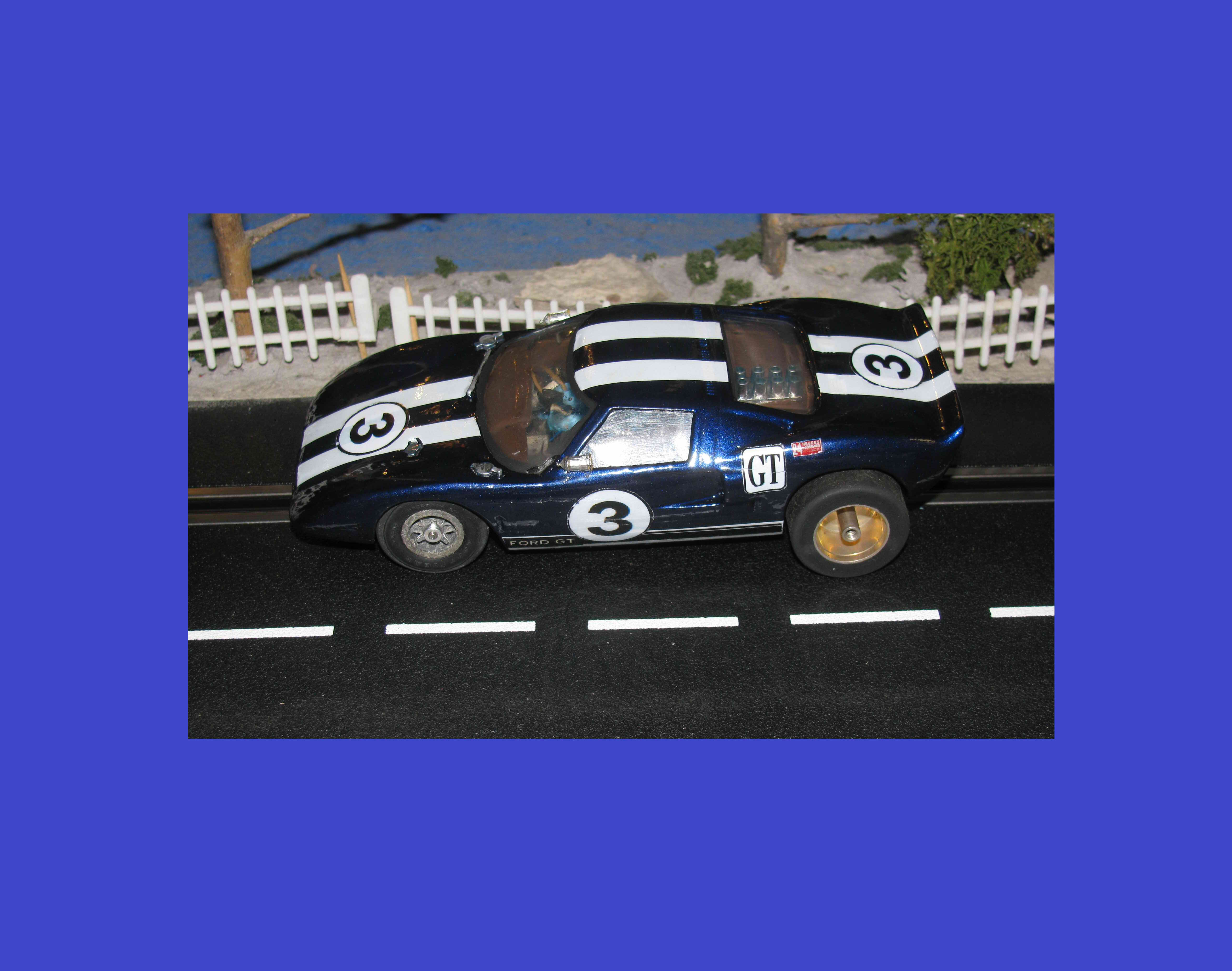 * SOLD * Vintage Ford GT40 Racer