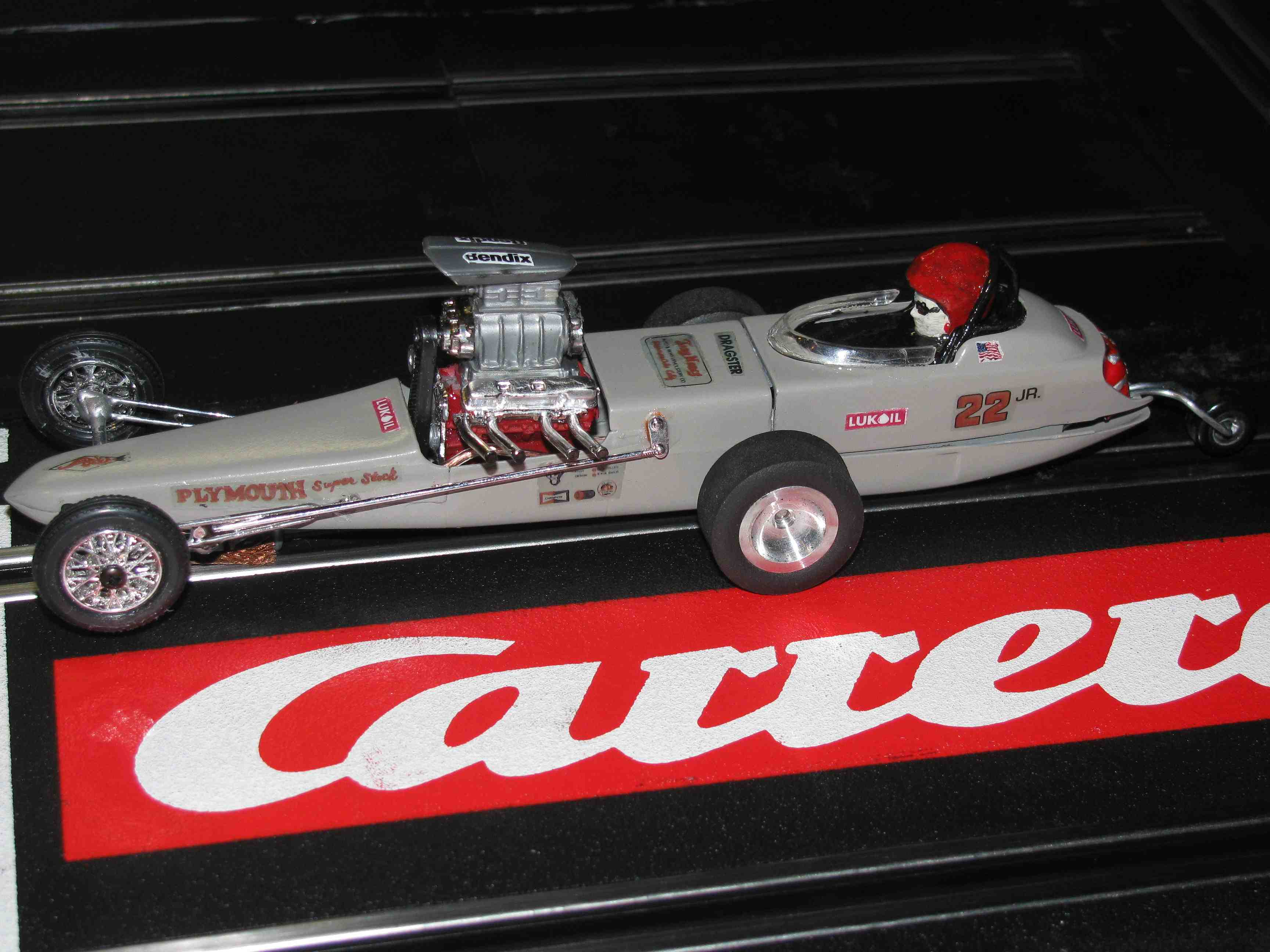 * SOLD * Revell Tony Nancy 22JR Plymouth Super Stock Dragster - 1:24 Scale Slot Car