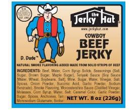Jerky Hut Cowboy Mild Smoked Beef Jerky