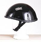 Smokey Gloss Black Novelty Helmet