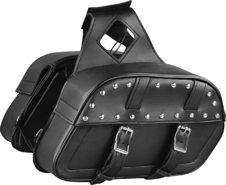 Saddle Bag With Studs (SH611.01ZB)