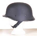 German Matt Black Novelty Helmet