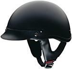 Matt Black DOT Shorty Helmet