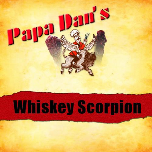 Papa Dan's Whiskey BBQ Scorpion Pepper - Flat & Tender Beef Jerky