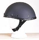 Smokey Matt Black Novelty Helmet