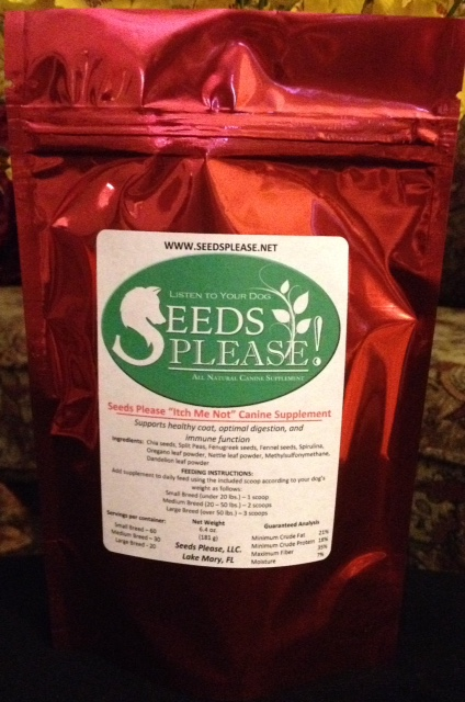 Seeds Please Itch Me Not For Dogs (5 bags) FREE SHIPPING