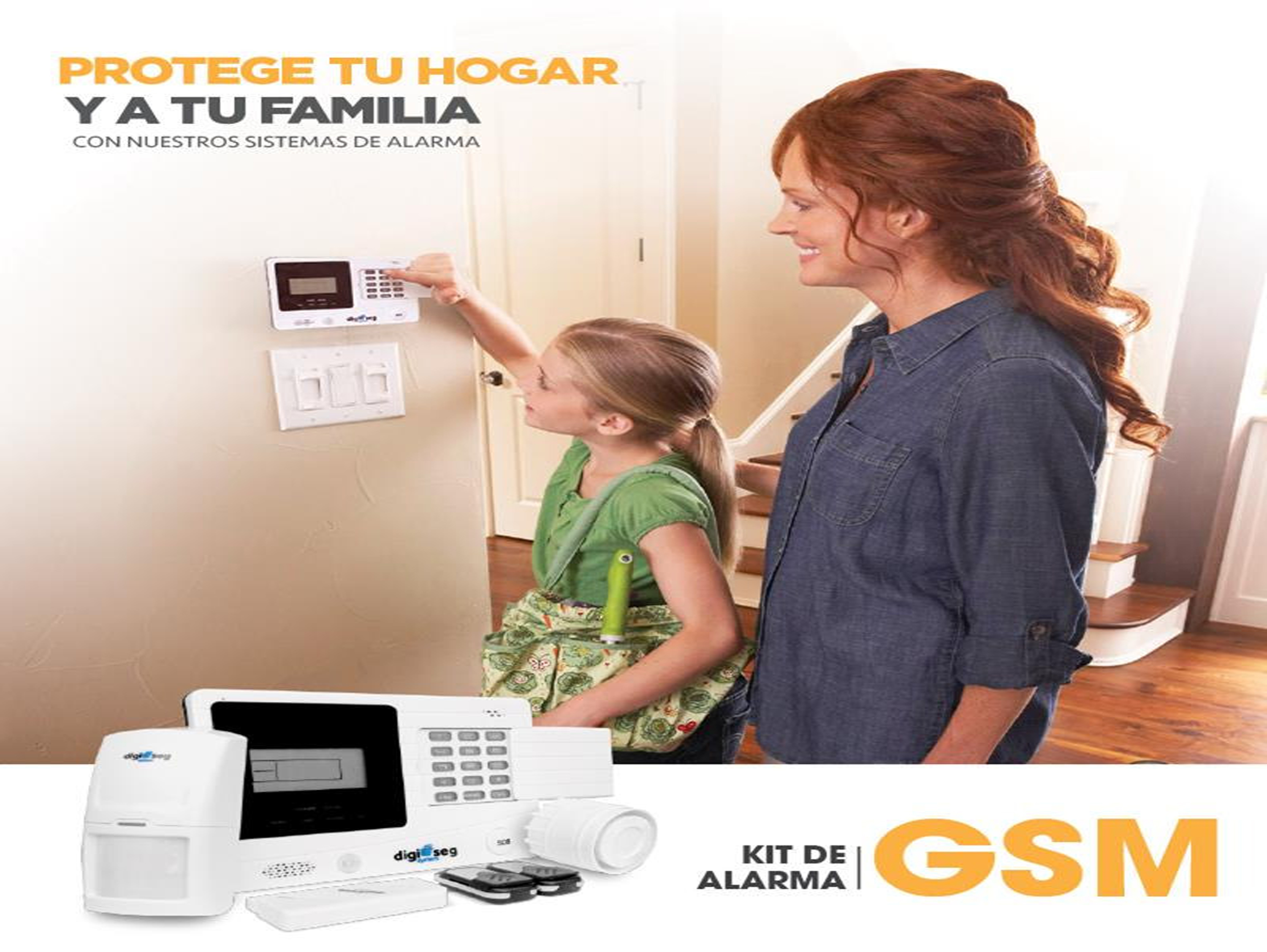 KIT ALARMA GSM (CELULAR)
